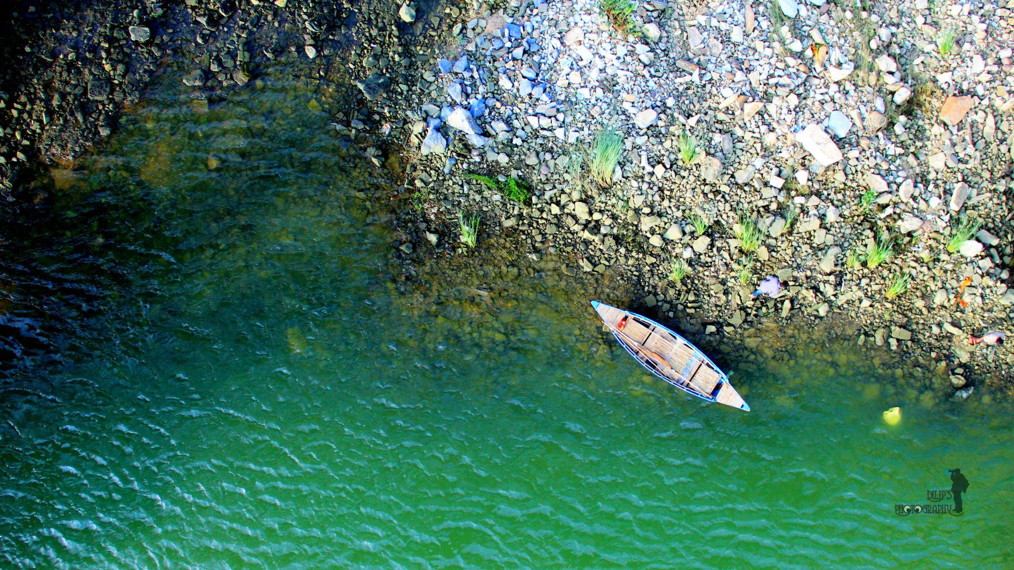 green waters by dileepk13
