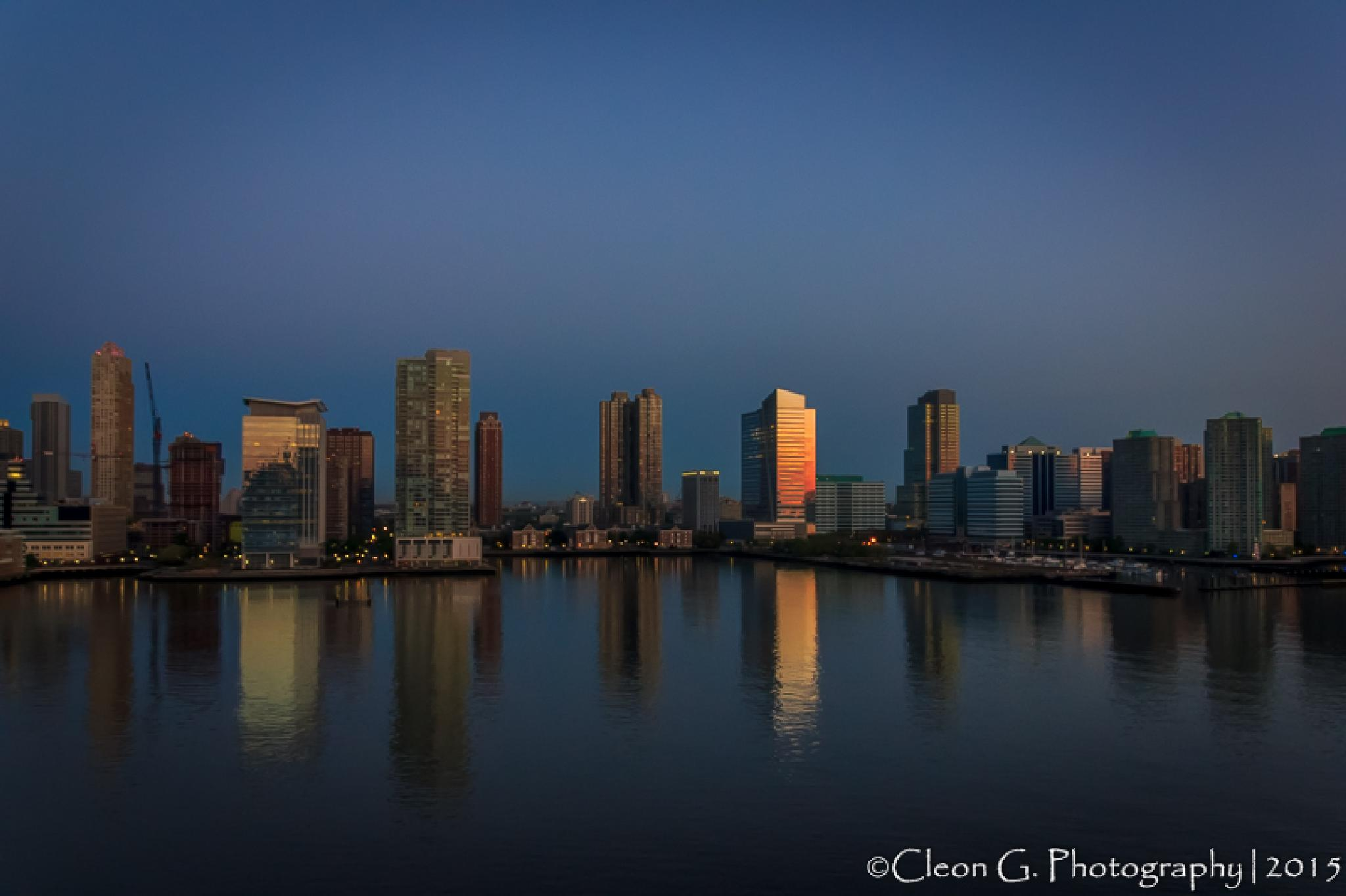 New York at dawn by cleon.gaymes