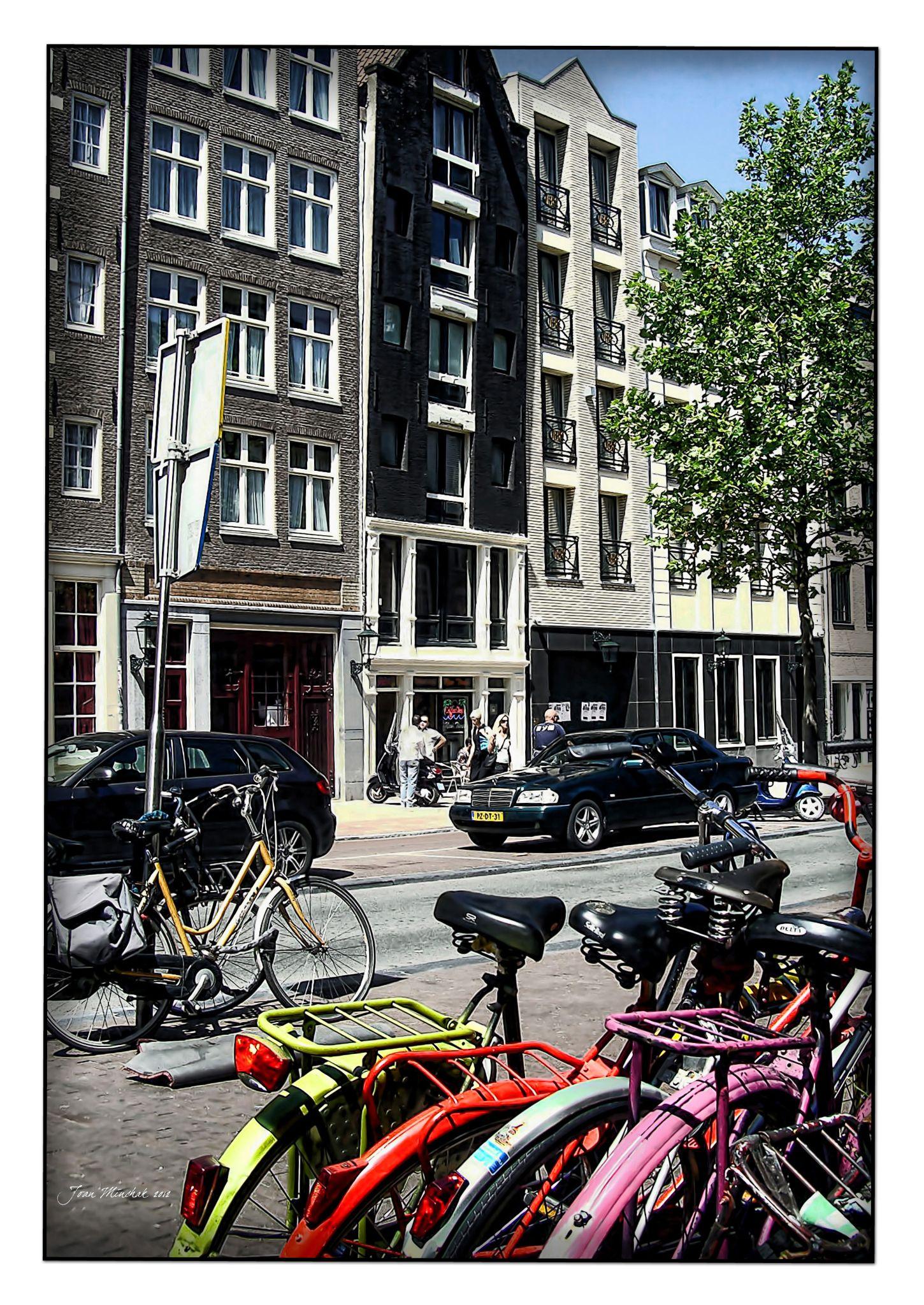 Bikes and Amsterdam by jminchak