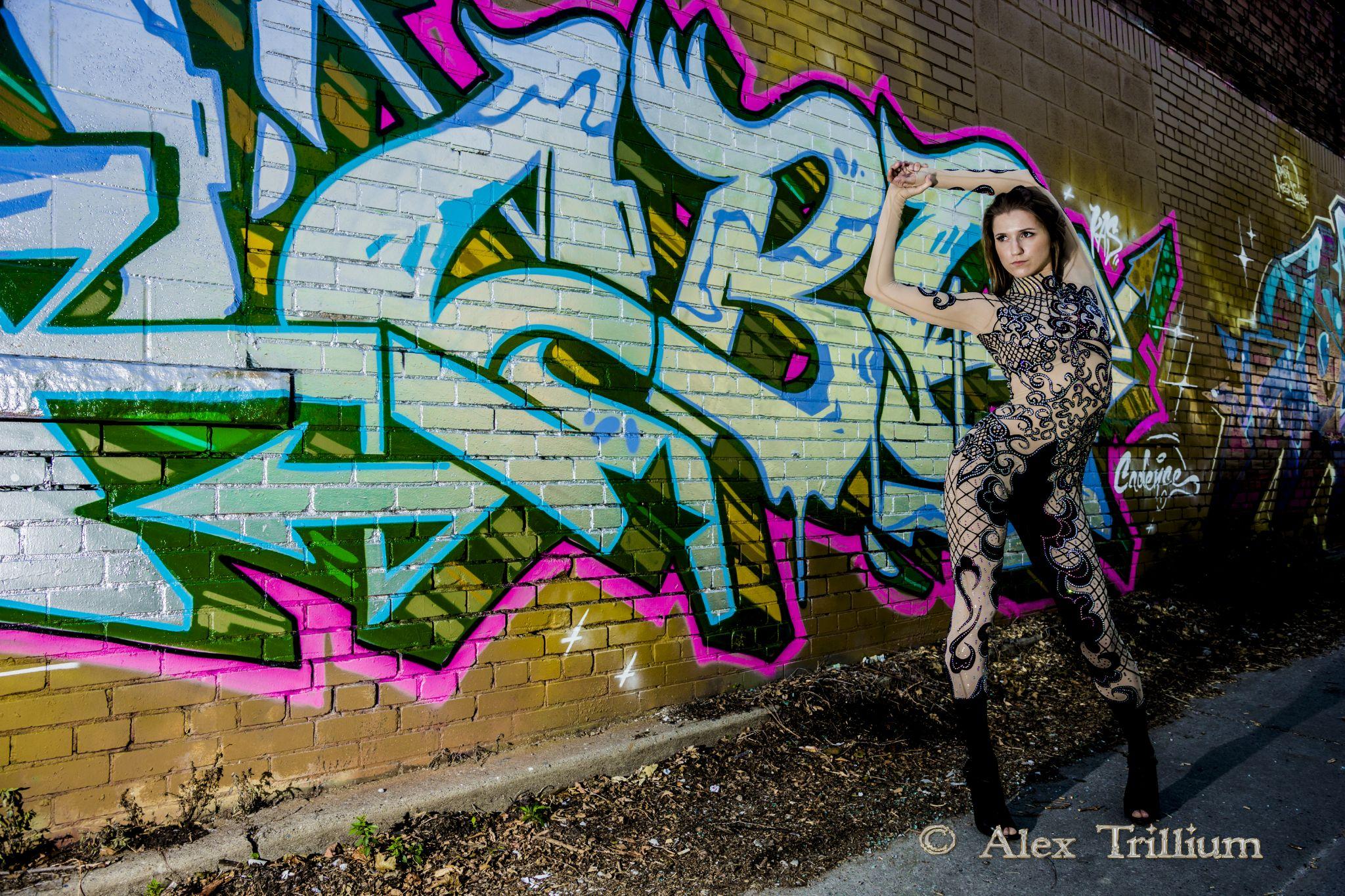 Graffiti Model by AlexTrillium
