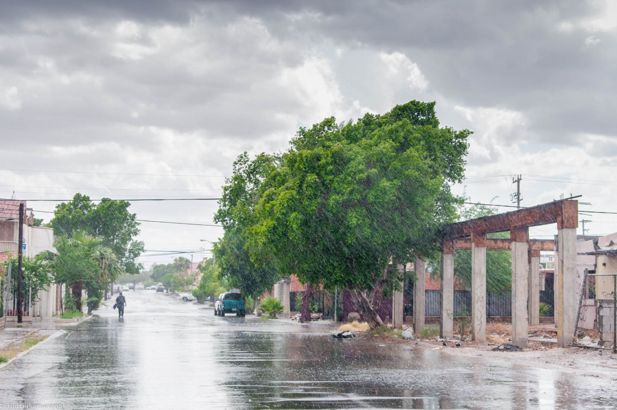 Rainy day (just rained for 10 minutes) by David Eliud Gil Samaniego Maldonado