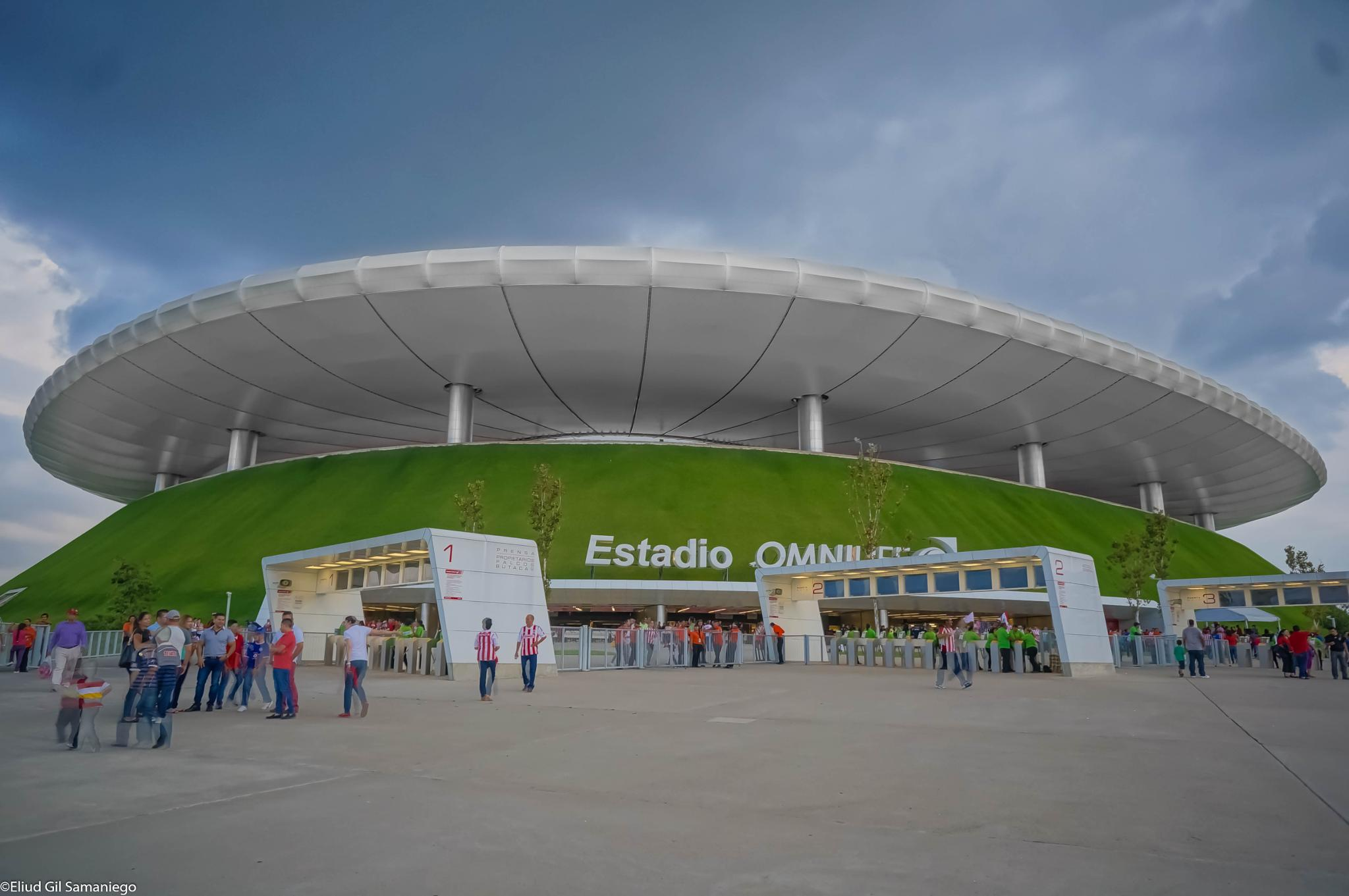 Estadio Omnilife by David Eliud Gil Samaniego Maldonado