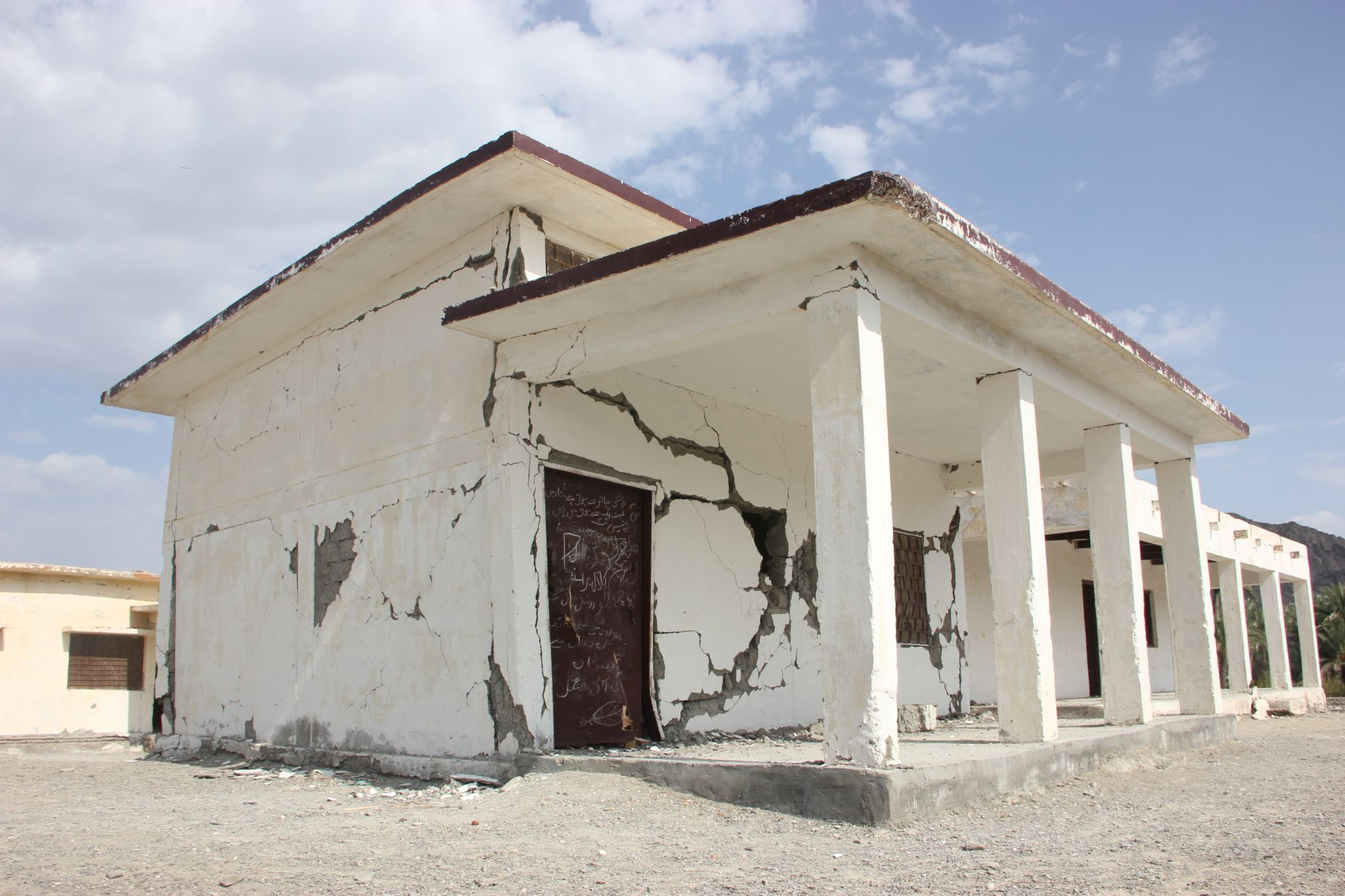 Schools affected by the earthquake in Balochistan by rahibaba.izback