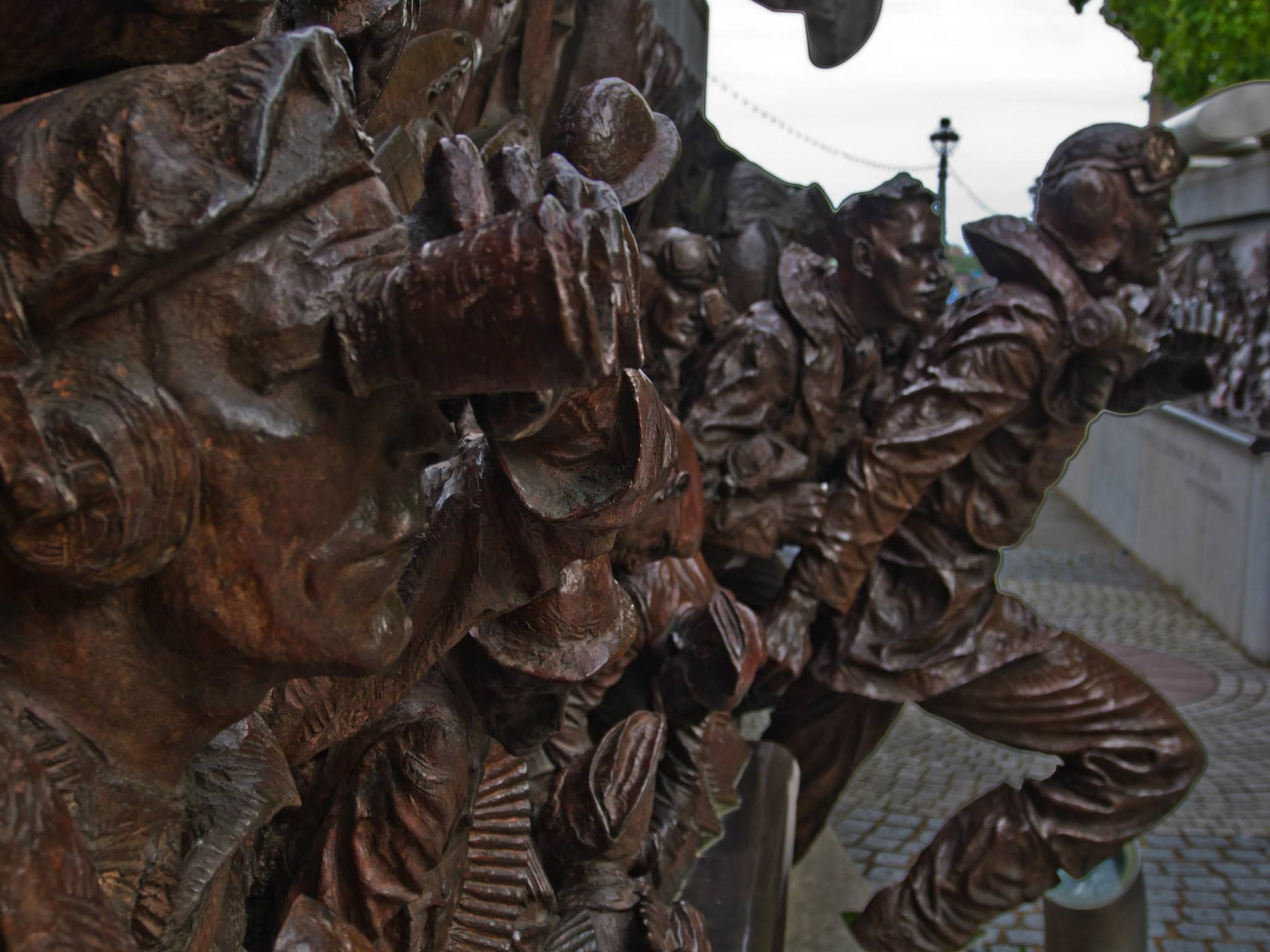 Bronze statue coming to life by darron.sandell