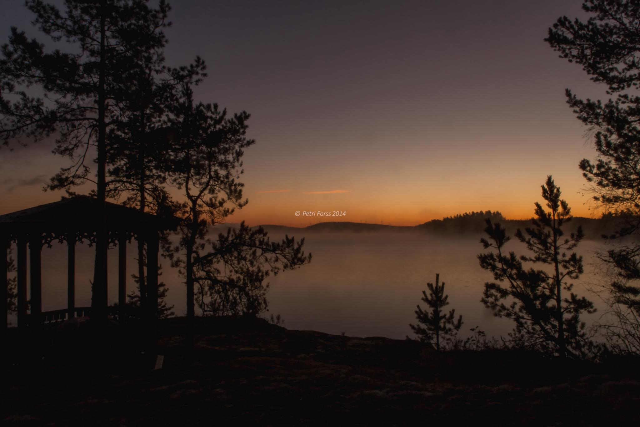When the morning dawns by Petri Forss