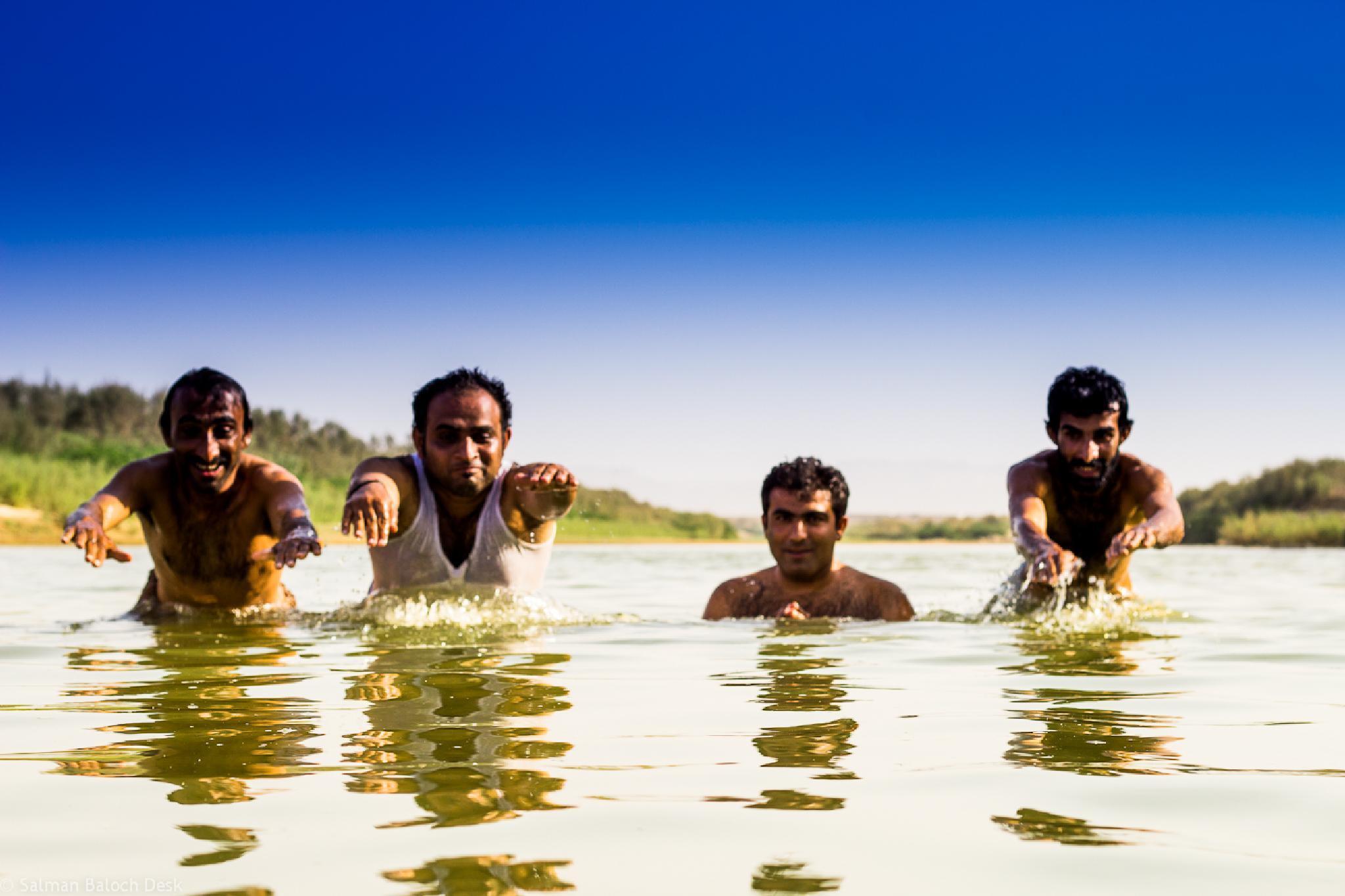 Lets Dive   by Salman Baloch