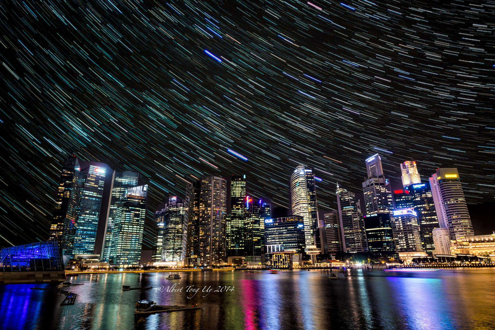 Singapore, Marina Bay Sands, Laser Show, HDR Panorama photo 37 by iatu8888