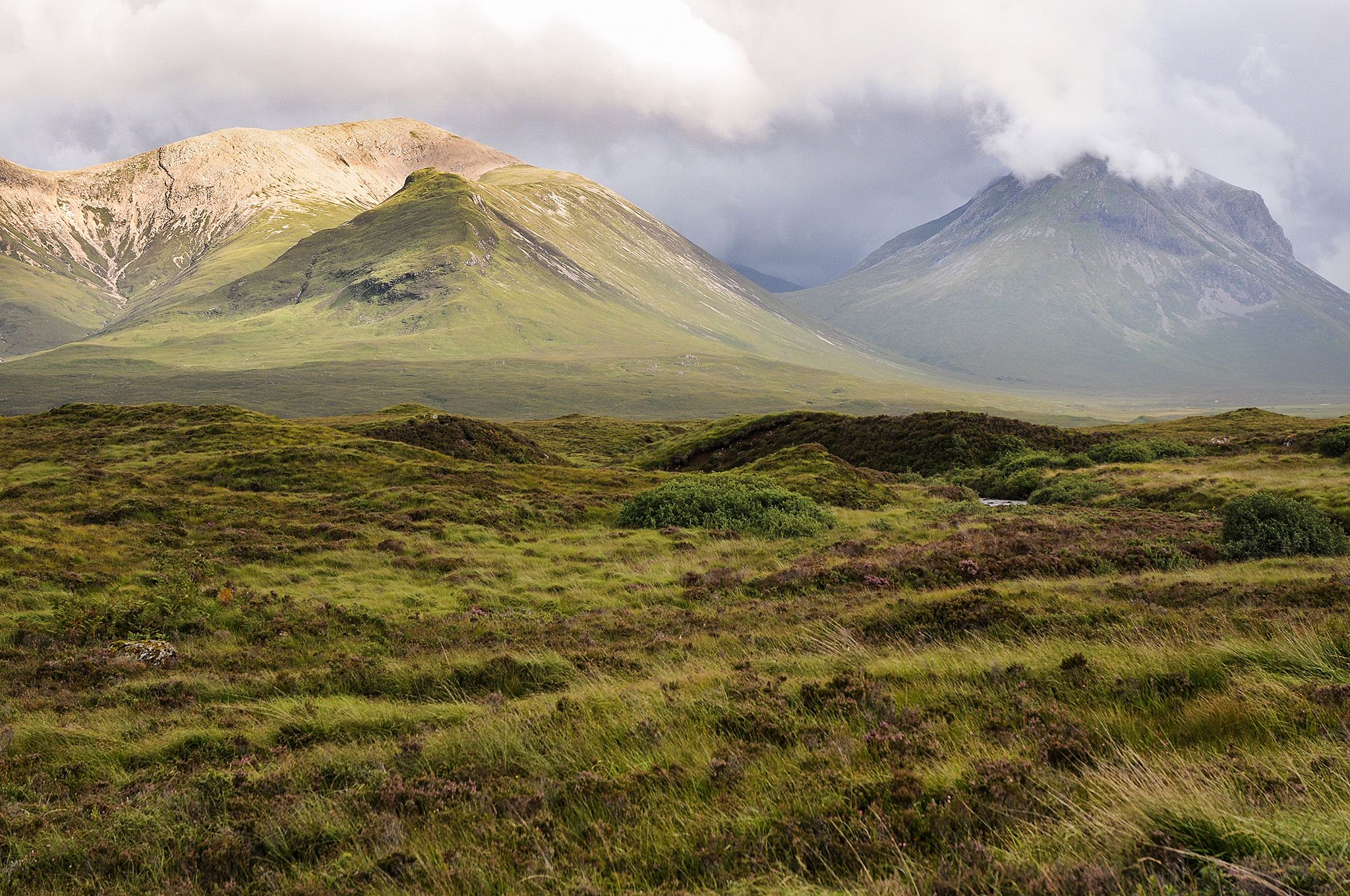 Rugged hills of Scotland by Soili Stenroos