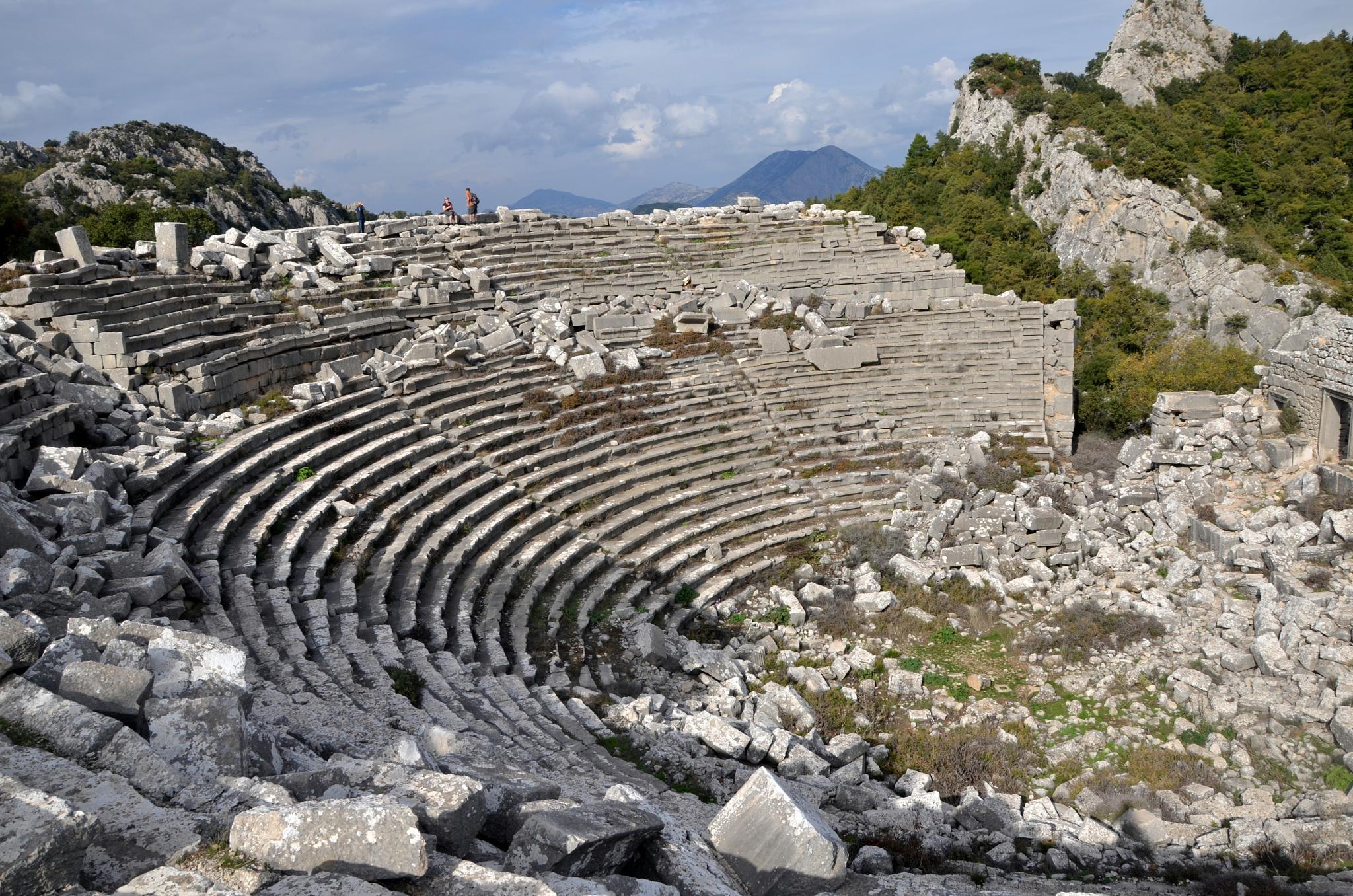 Termessos Antik Şehir by Sema Ünlü Özden
