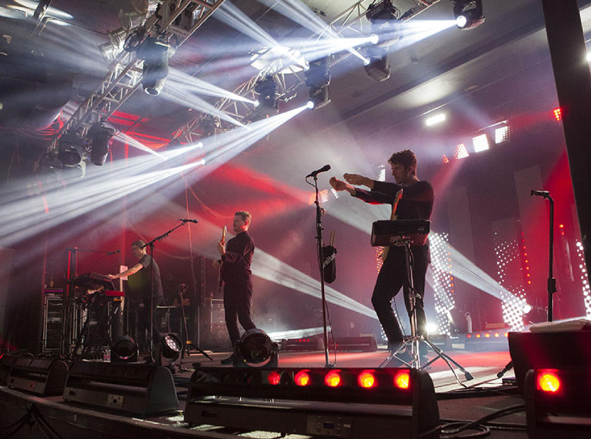 Alt-J performing at Roseland Theater by Caitlin Webb