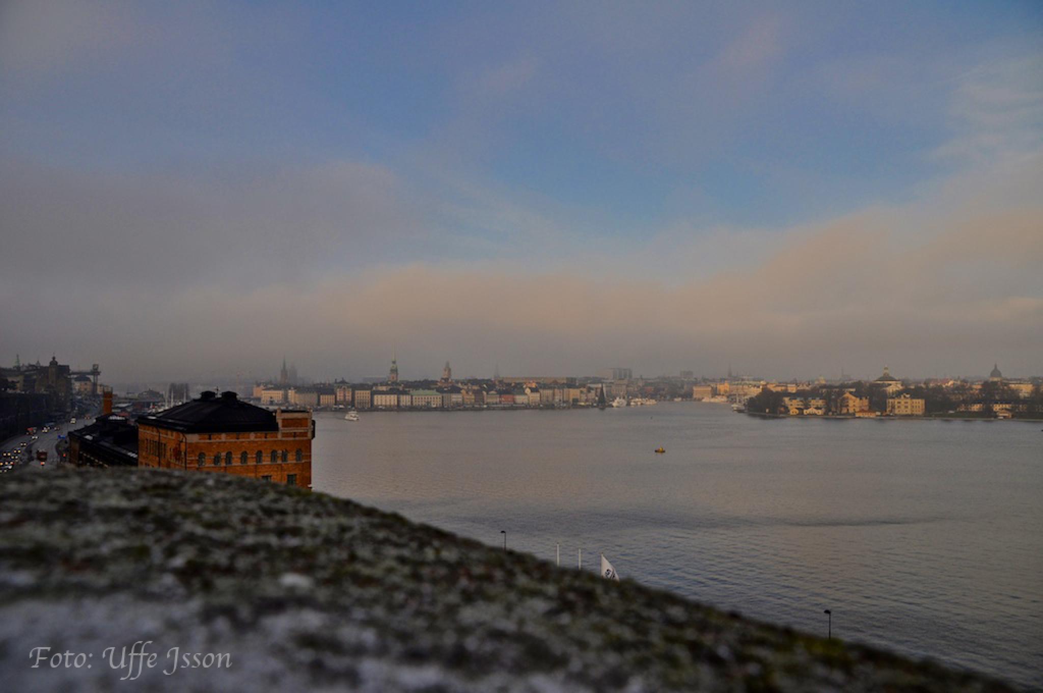 Photo in Cityscape #stockholm #fjällgatan #skeppsholmen #skeppsbron
