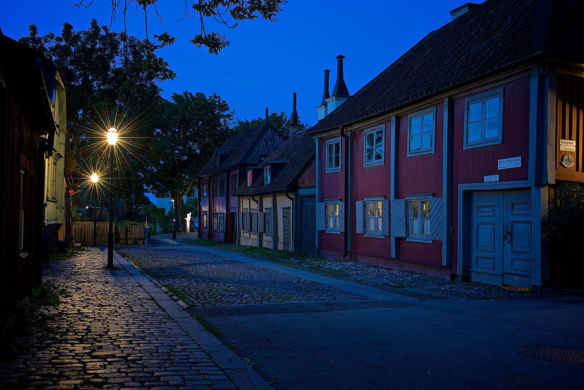 Photo in Cityscape #sweden #stockholm #södermalm #night