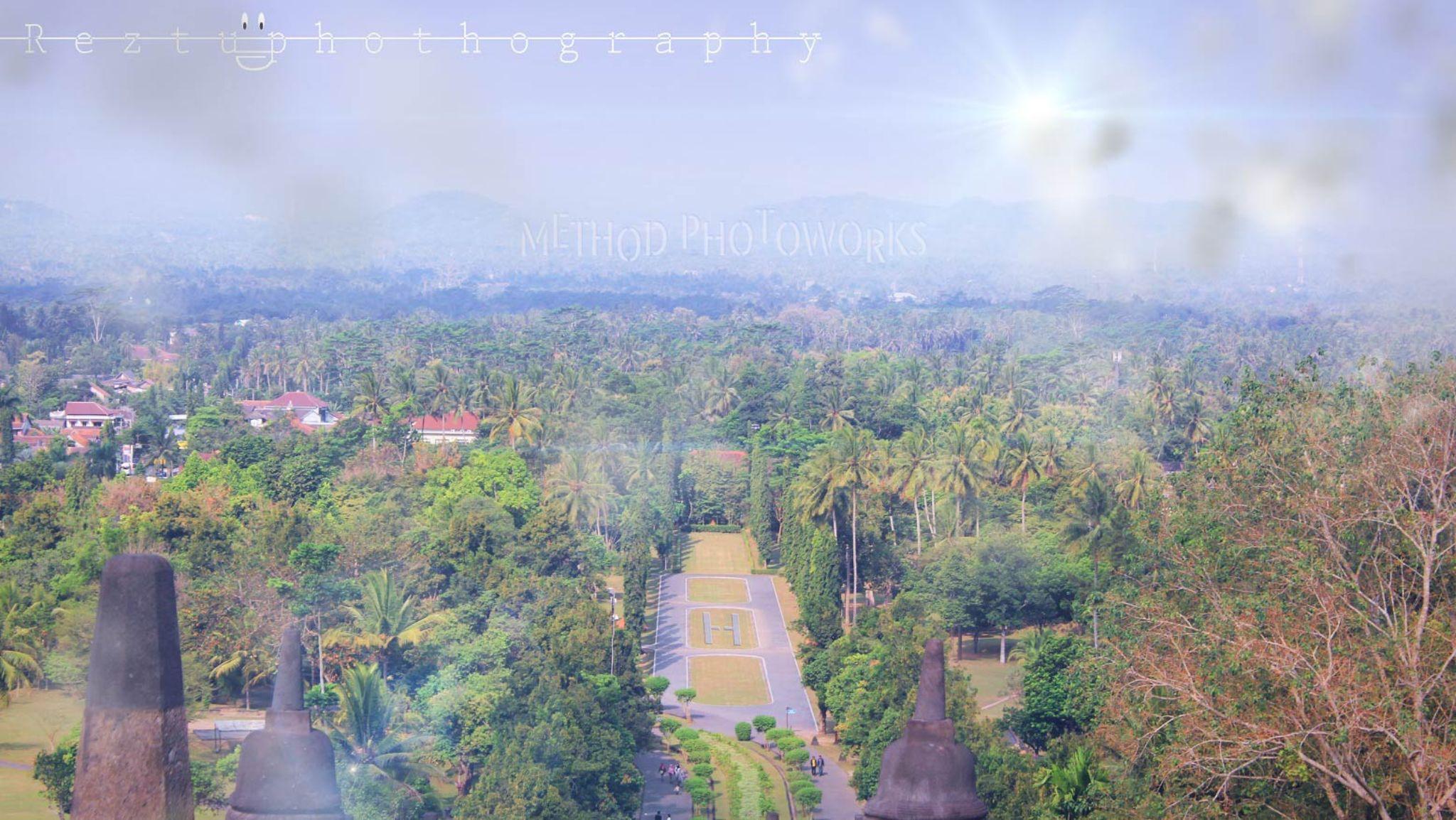 Landscapes Borobudur by Reztu Photoworks