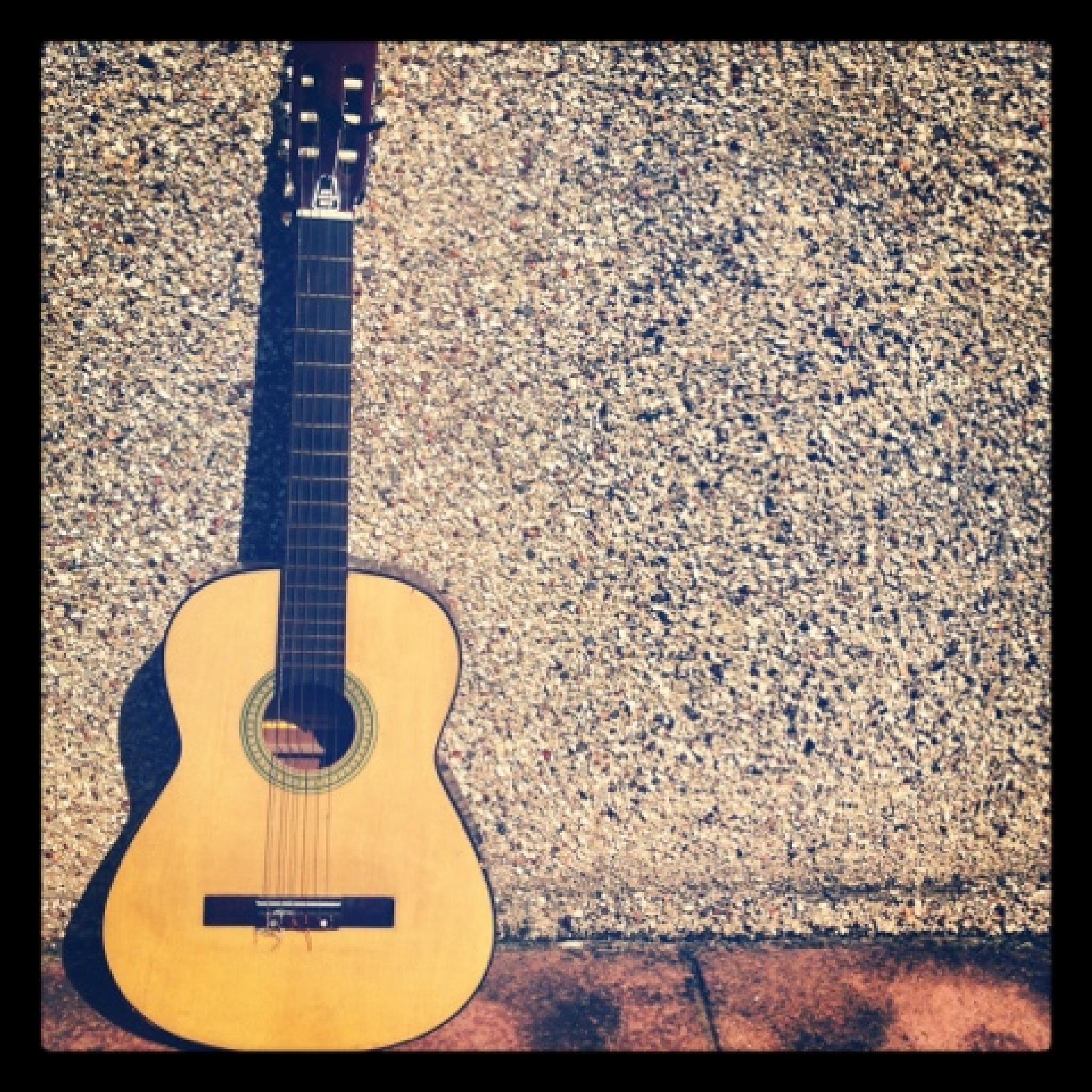 Photo in Random #simple things #guitar #sunny day #difference #album cover #random