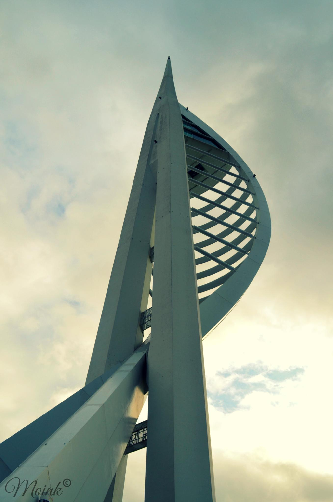 Spinnaker Tower by Michelangelo Macanas