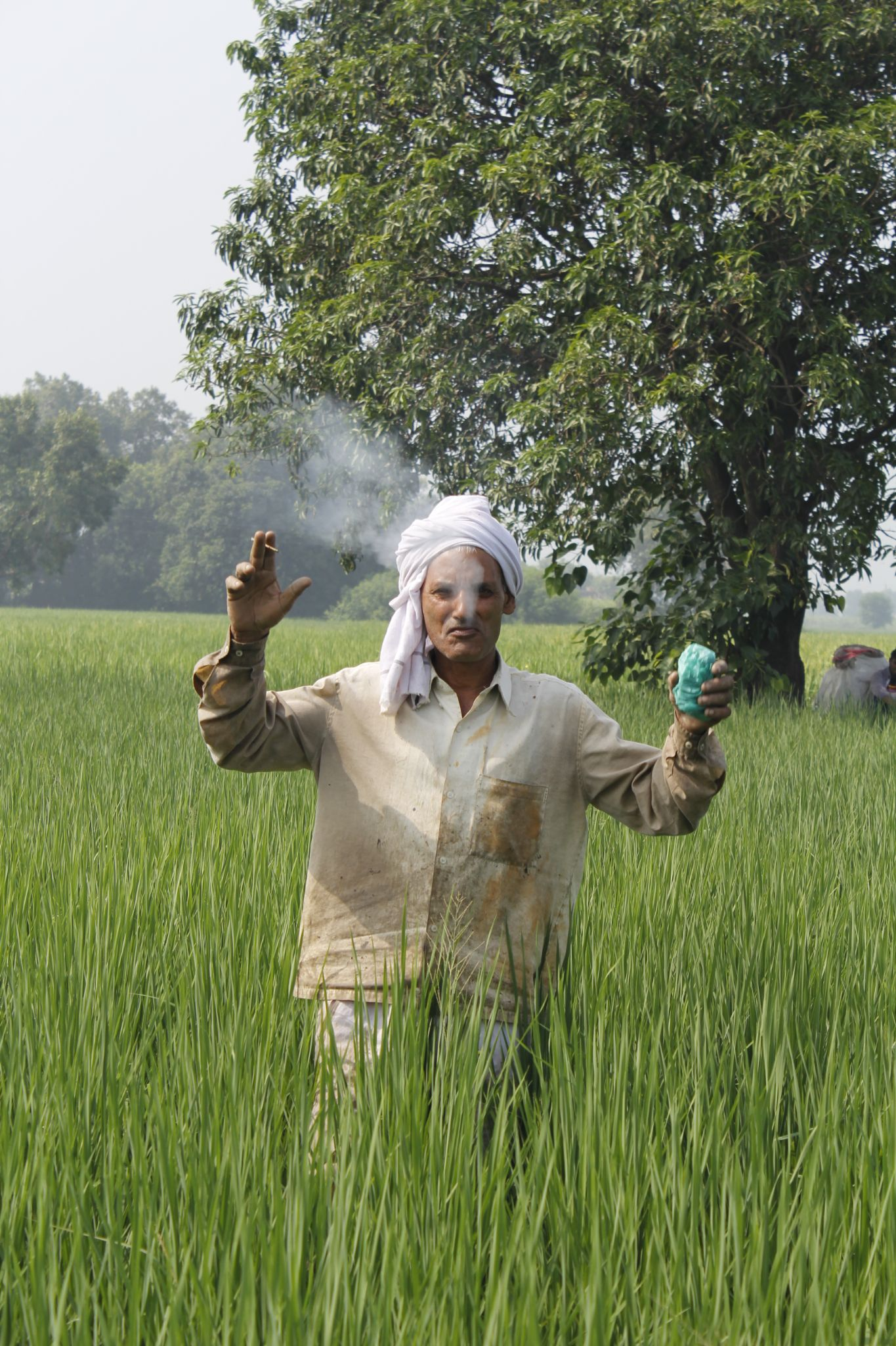 Farmer in  field :) by Vipin Maxzz