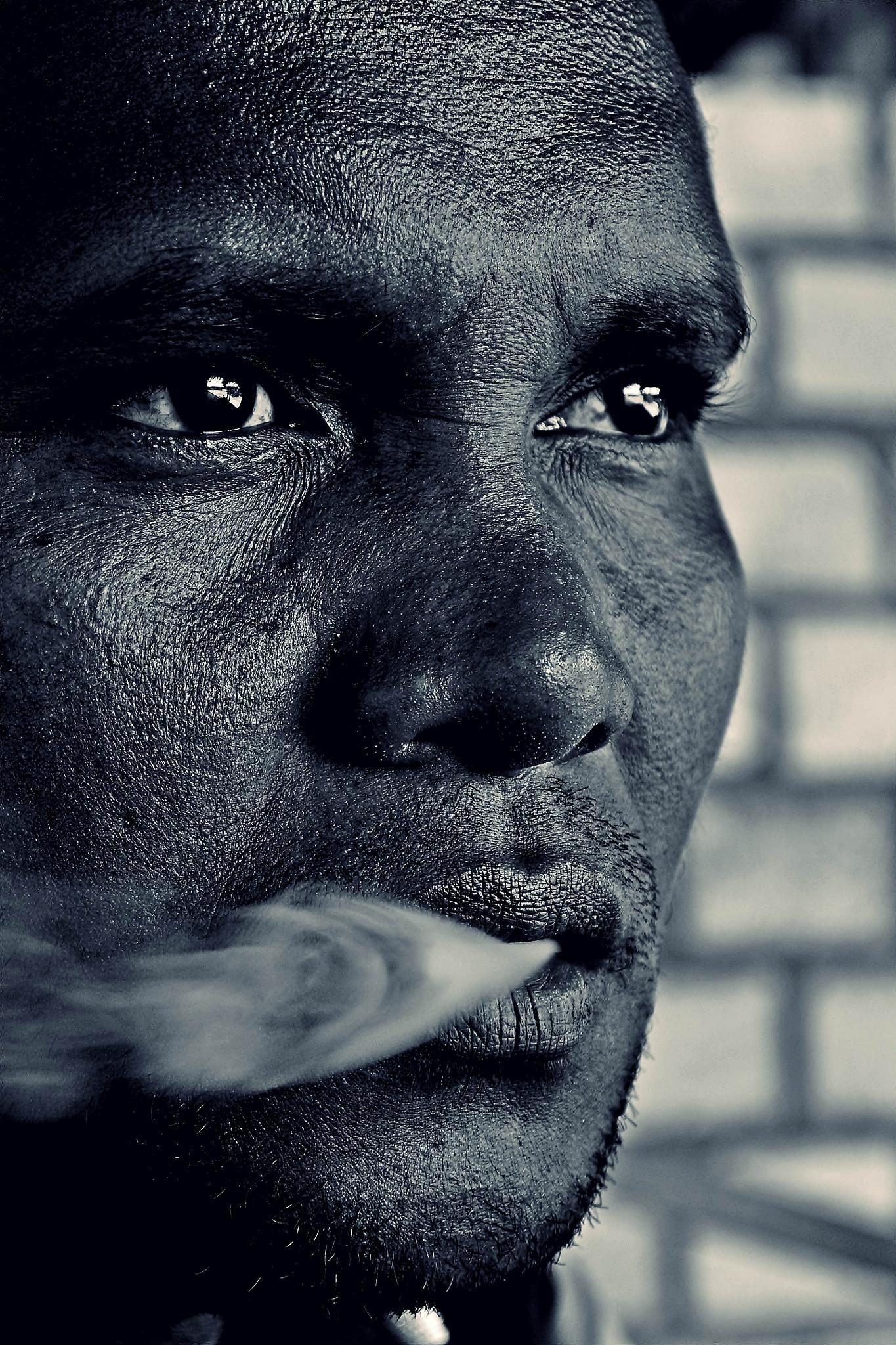Man by Lucky Matui