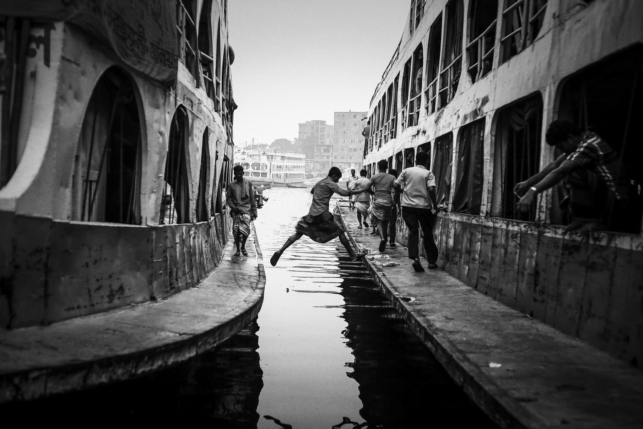 Street life  by Eyamin Kabir