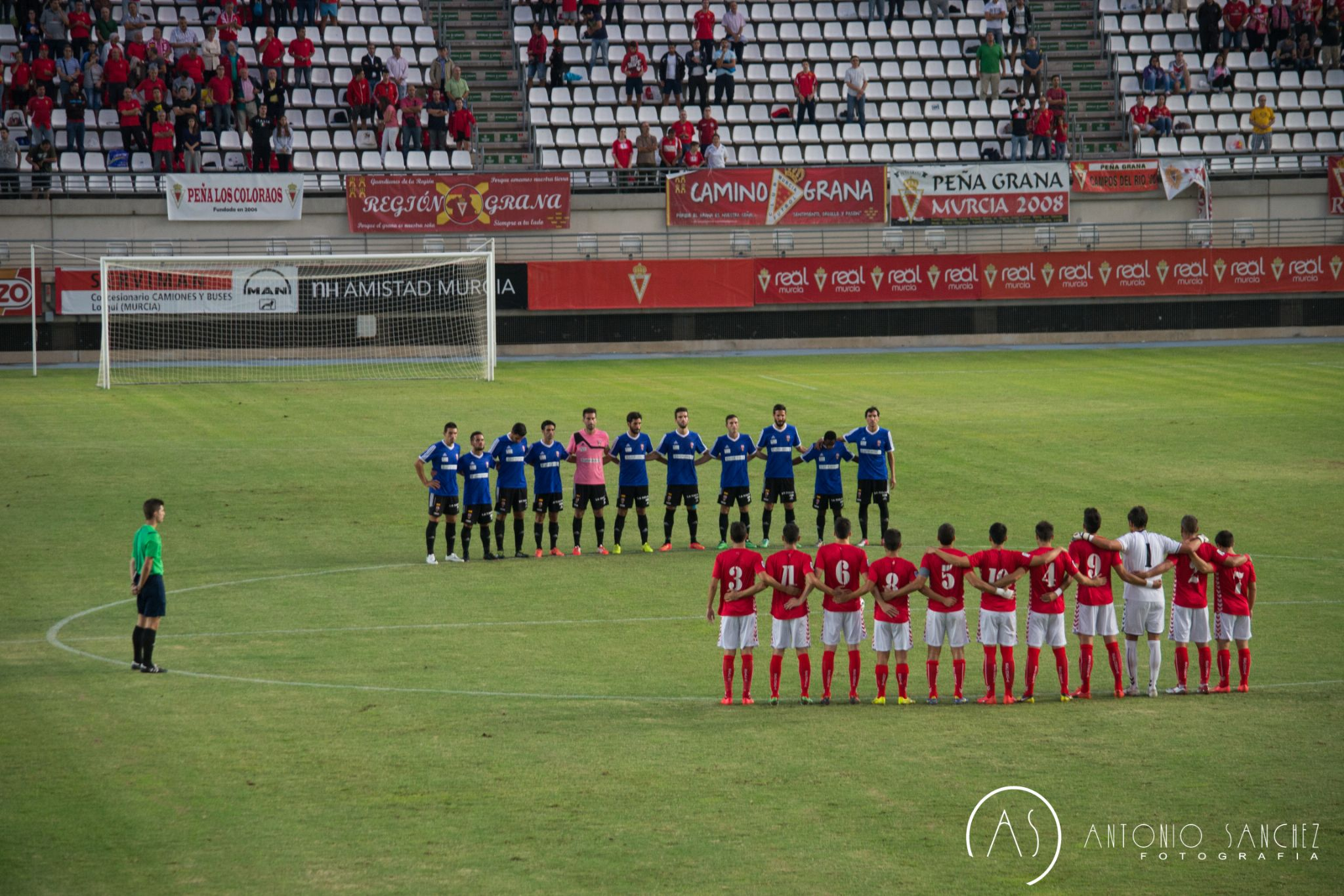 Real Murcia - U.D. Logroñes by AntonioSanchezPhoto