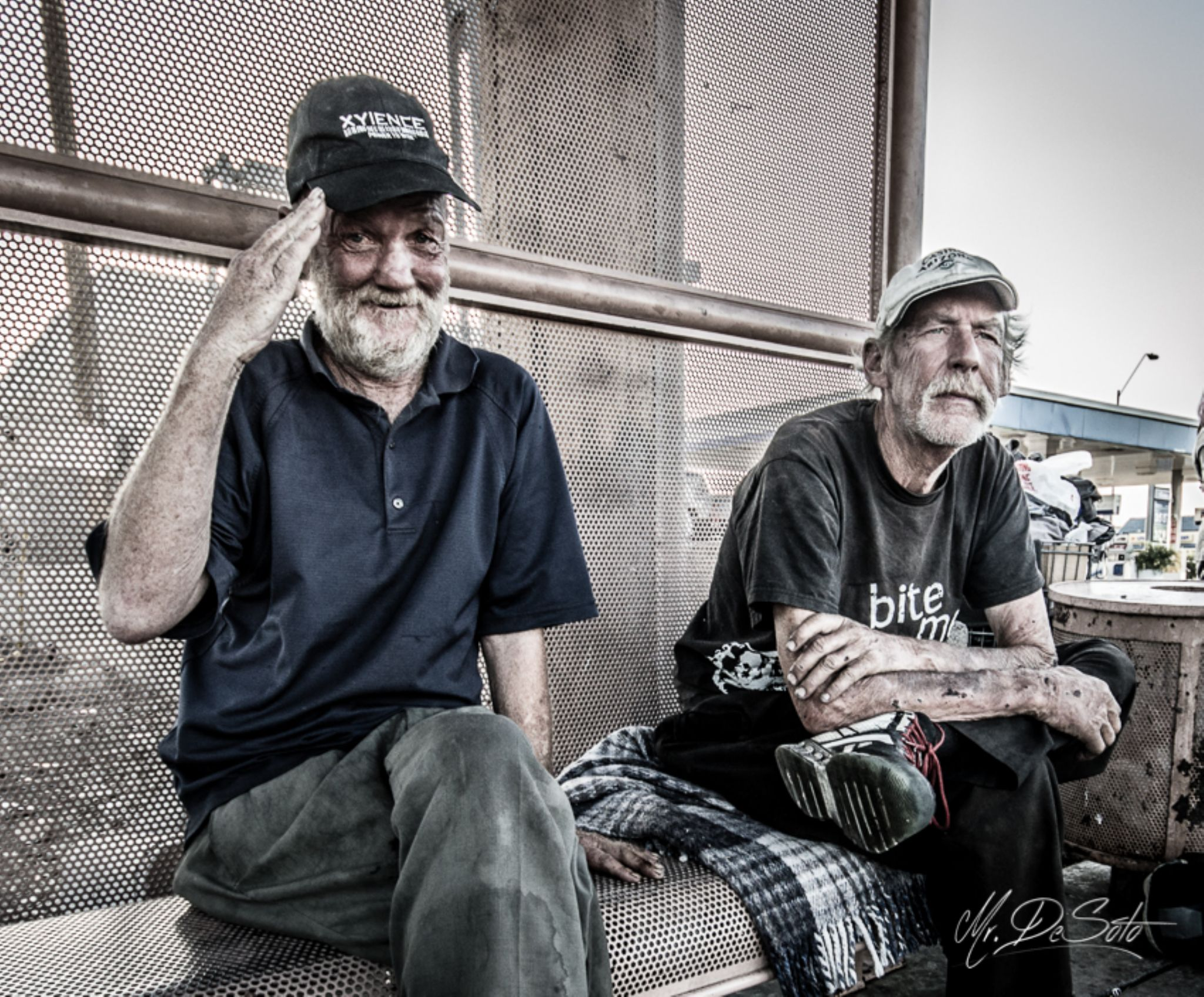 Meet Lt. Dan and Tim by Mr. DeSoto Photography