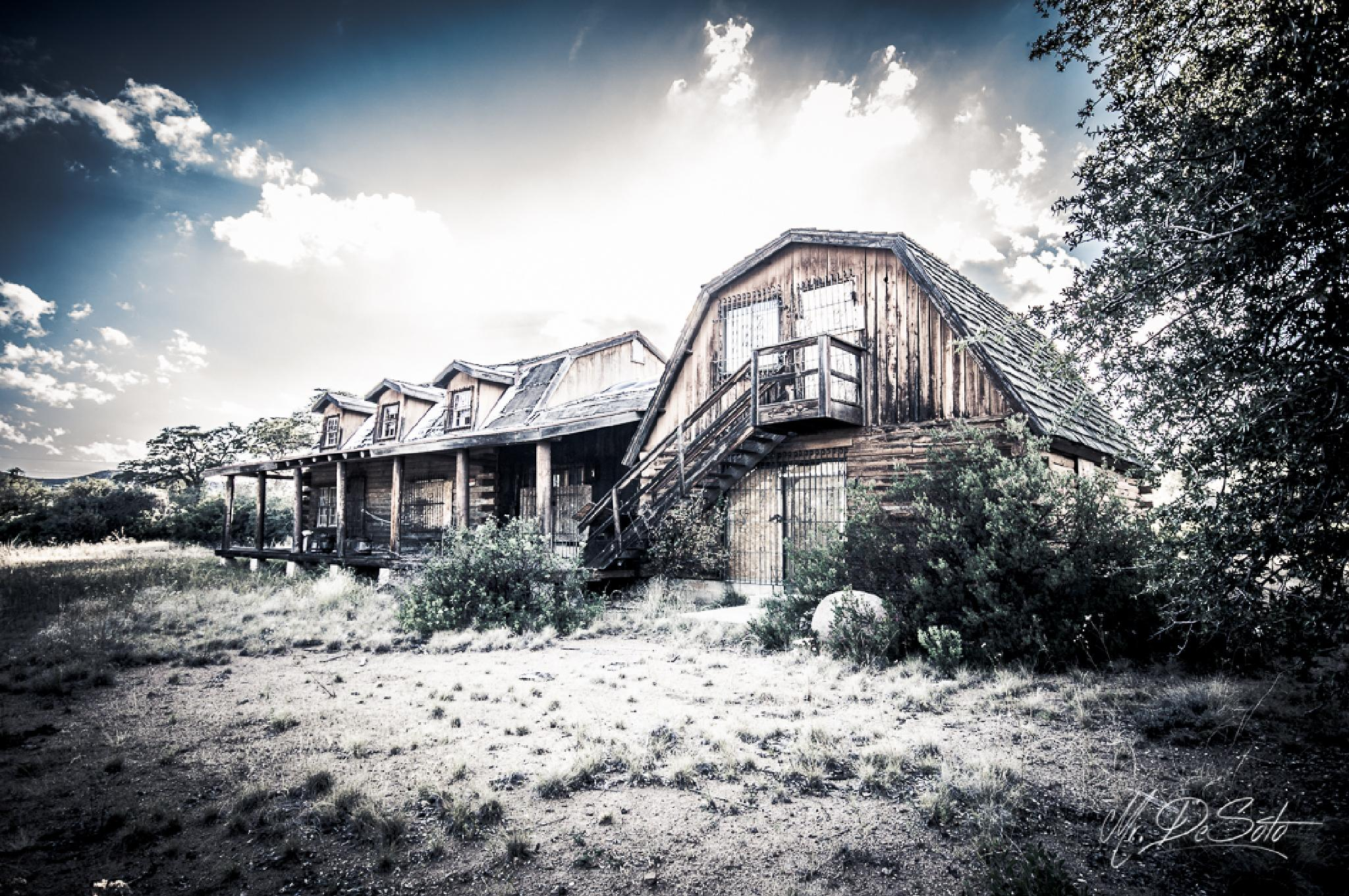 The ranch has been locked and left.... by Mr. DeSoto Photography