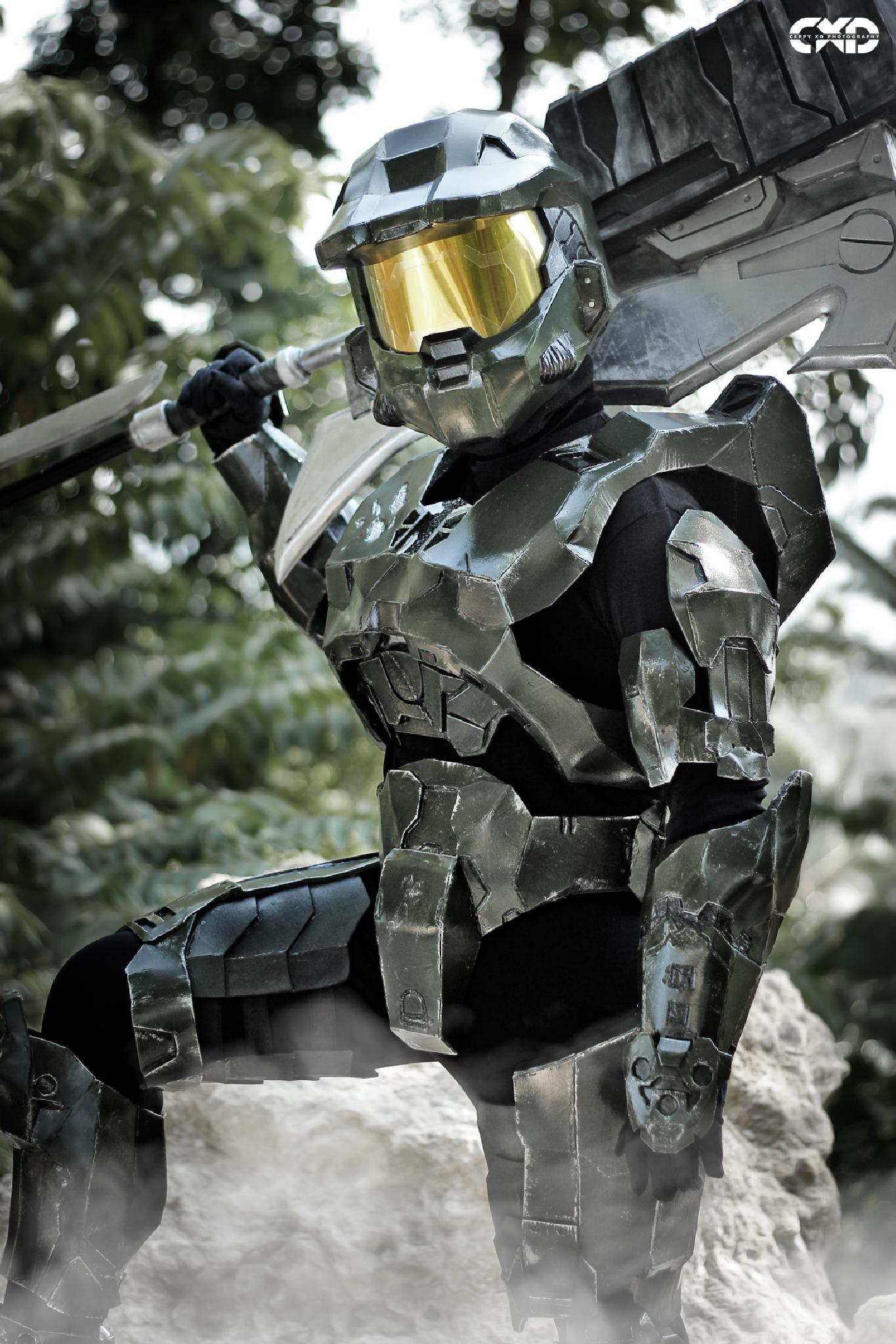 Photo in People #halo #cosplay