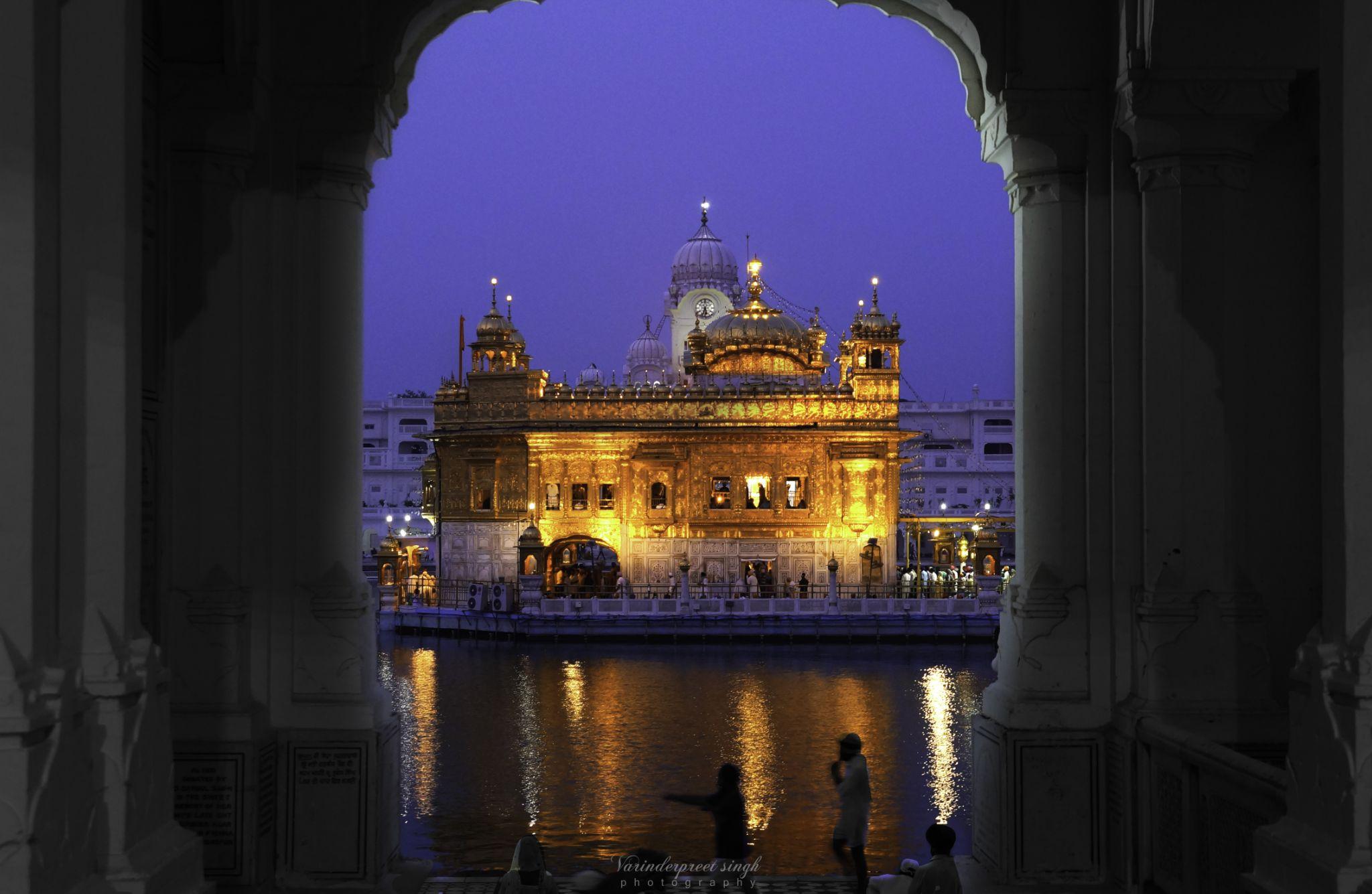 The Heaven in Blue hour by Varinderpreet Singh