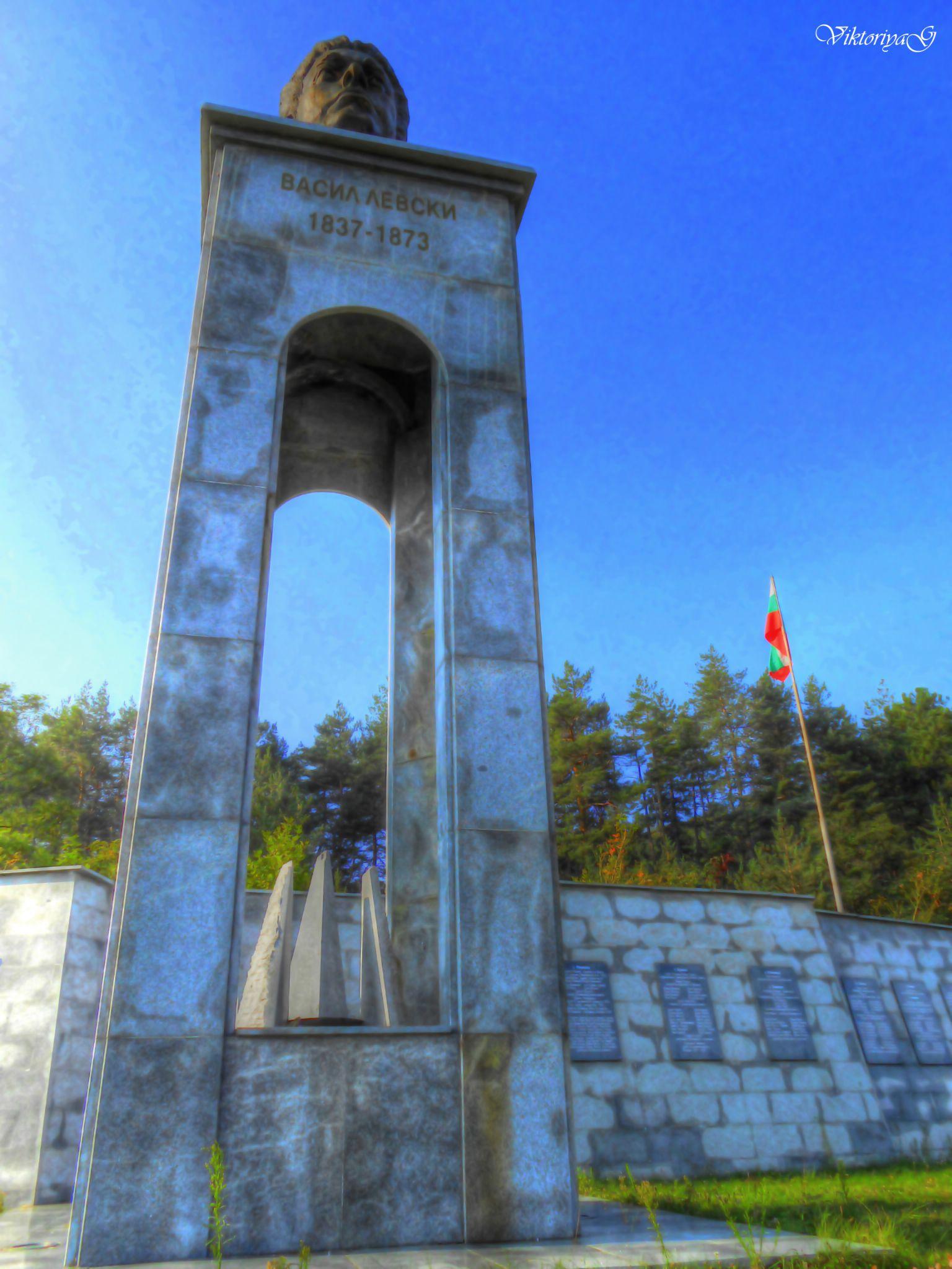 The monument of Vasil Levski  by Viktoriya Georgieva