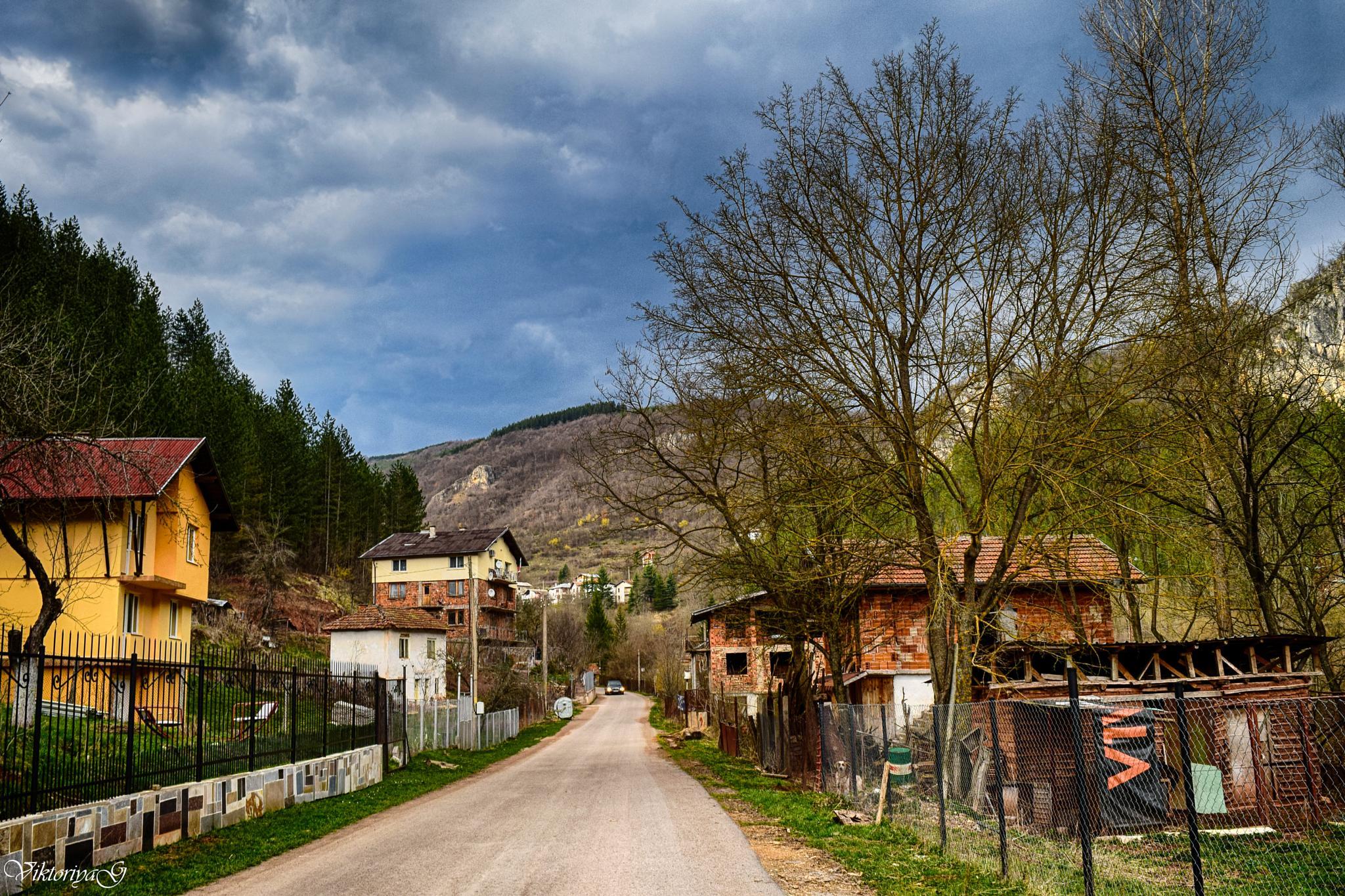 Bulgarian village by Viktoriya Georgieva