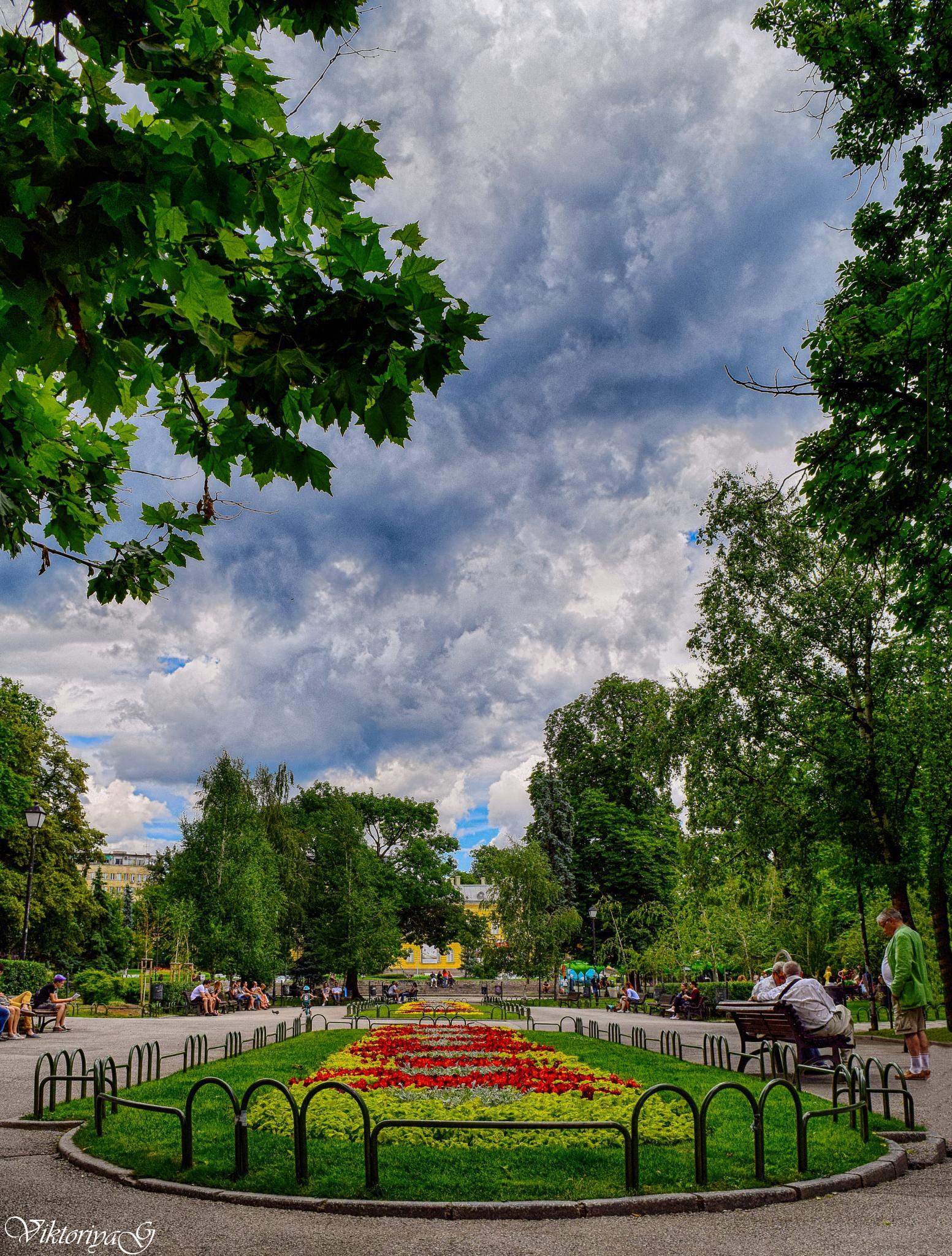 HDR garden by Viktoriya Georgieva