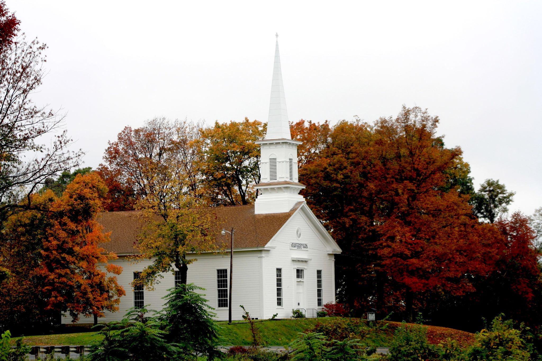 Country Church by DeniseCrawford