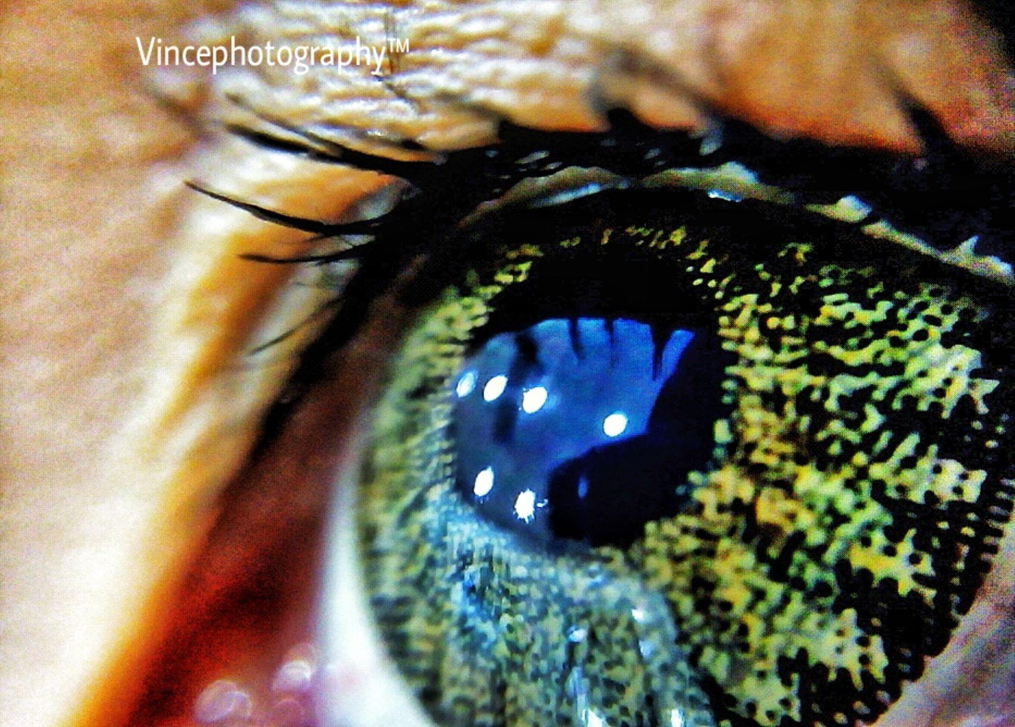 eye portrait by beastly2011