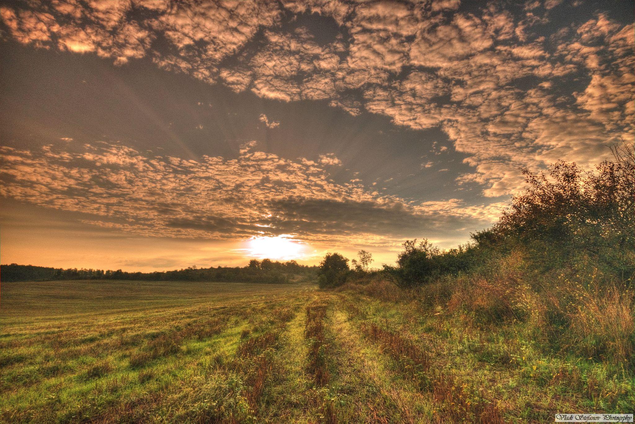 sunrise .... somewhere in northwest by Vladi Stefanov