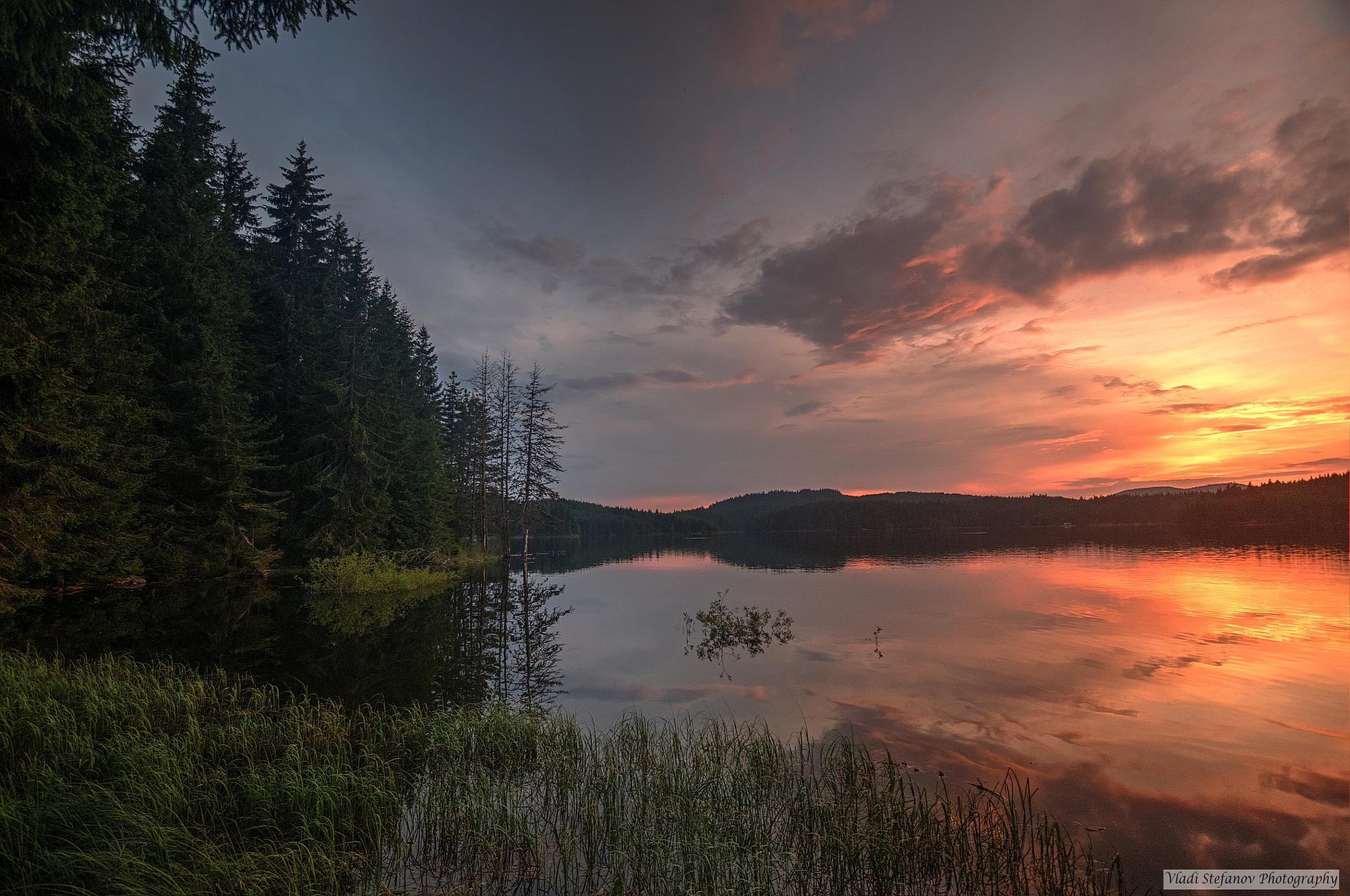Bulgaria,Shiroka polyna lake by Vladi Stefanov