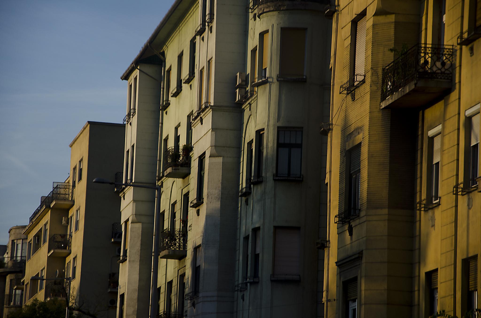 Újlipótváros, neighborhood in the 13th district of Budapest by ZSM