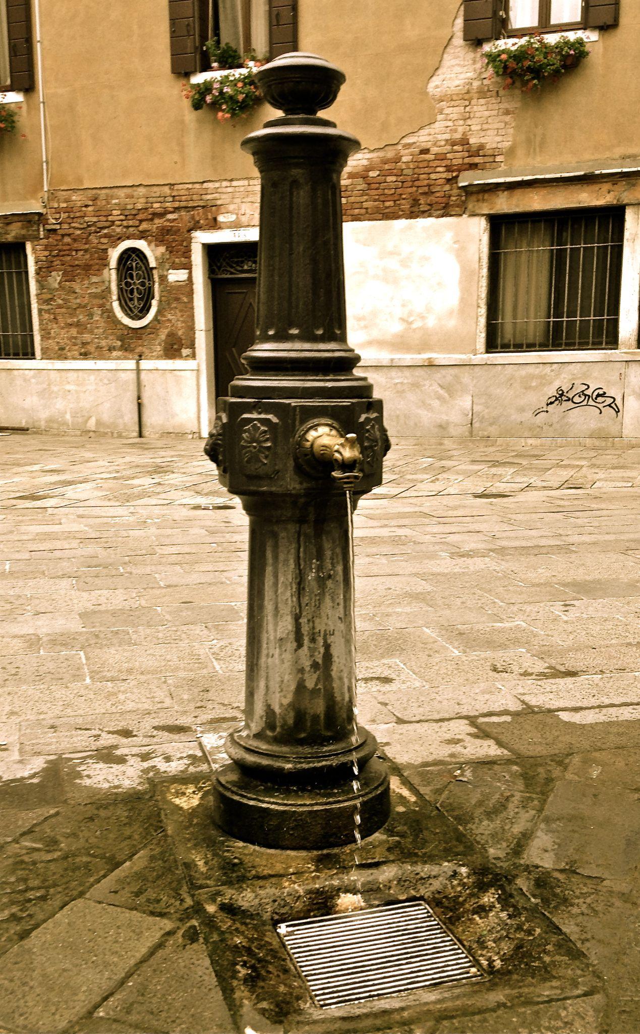 Venitian Artisian Fountain by evelyn.amis