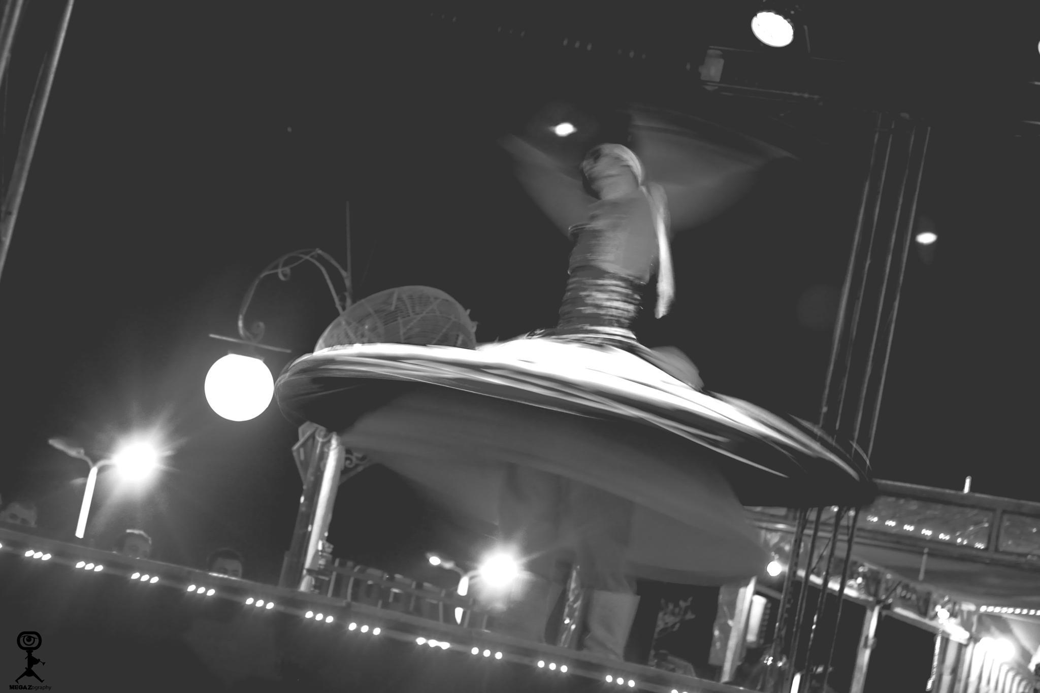 Photo in Concert #transfiguration #tanora #monochrome #b&w #show #man #egypt #folklore #megazography