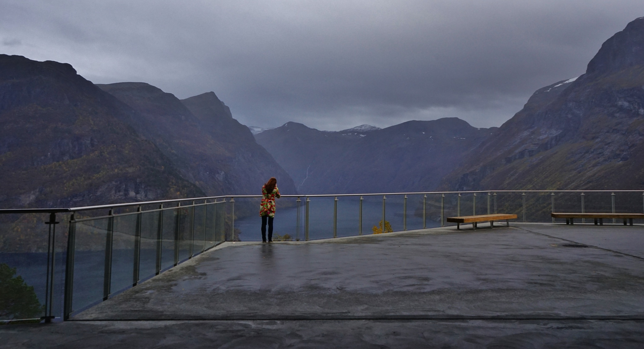 The view by Elisabeth Tennøy