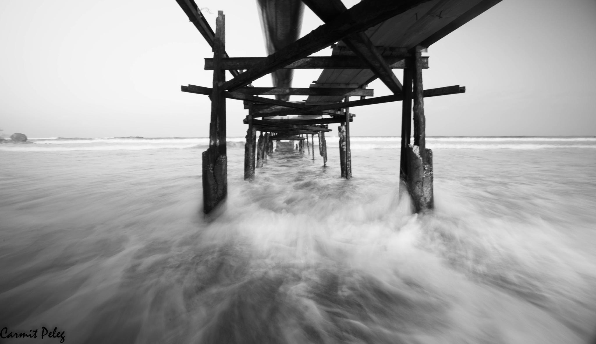 Under bridge by Carmit Peleg