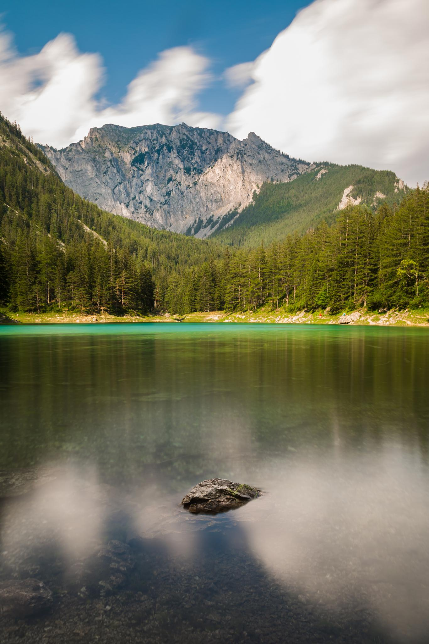 Green Lake - Two Rocks by Martin