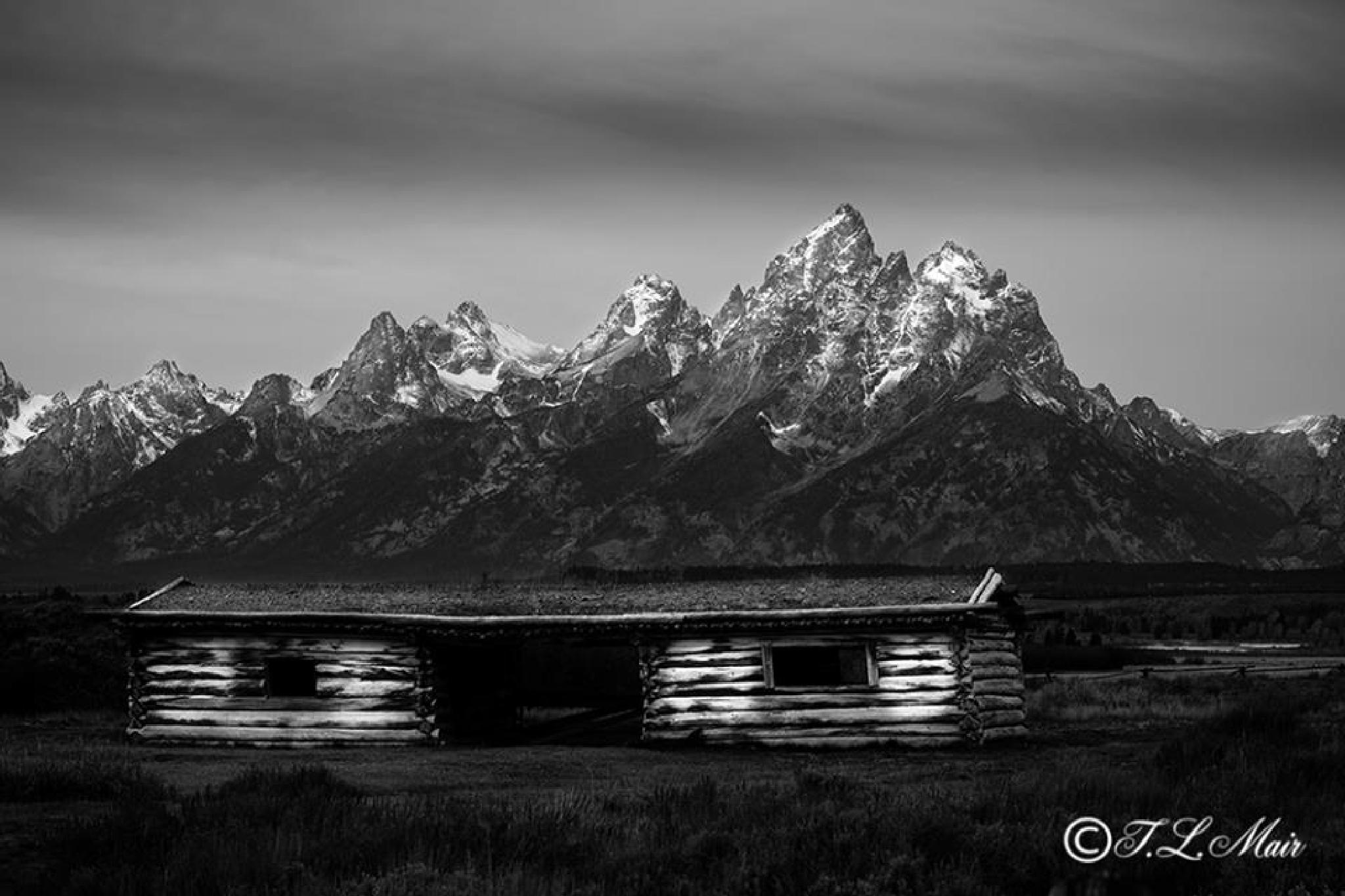 Cunningham Cabin by T. L. Mair Fine Art Photography