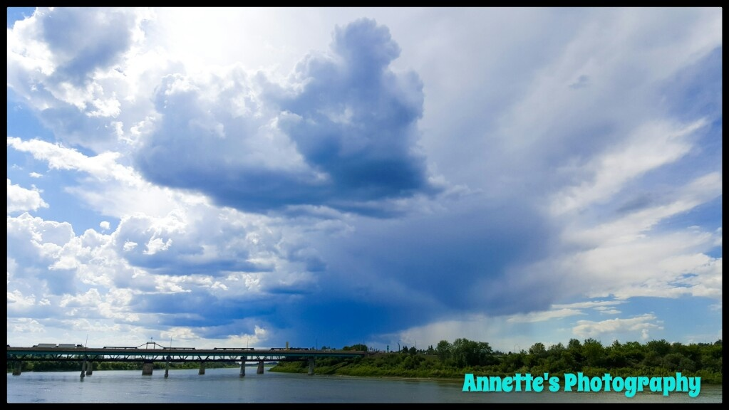 Prince Albert before the storm by Annette McCann