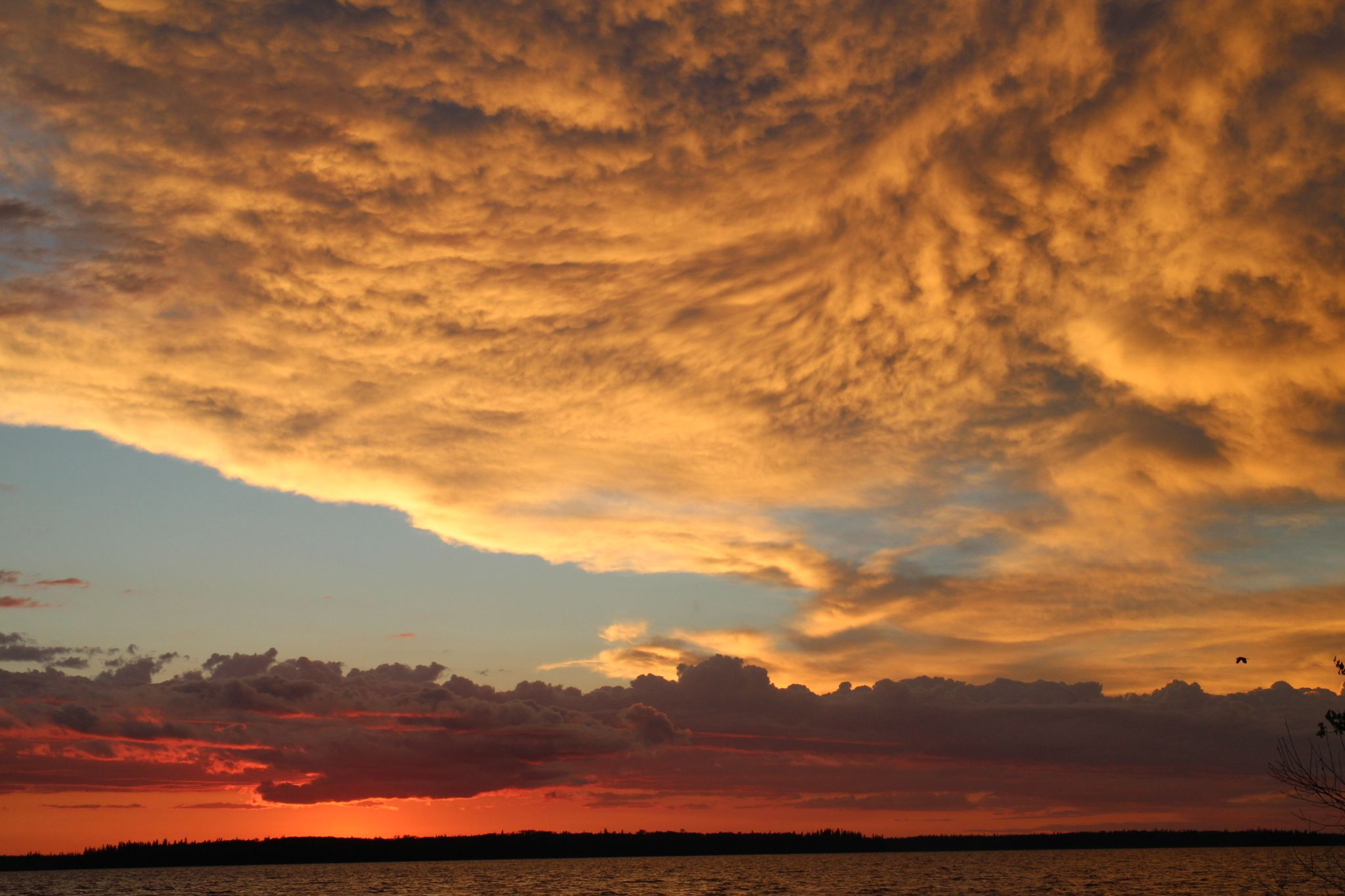 Sunset with Clouds by Annette McCann
