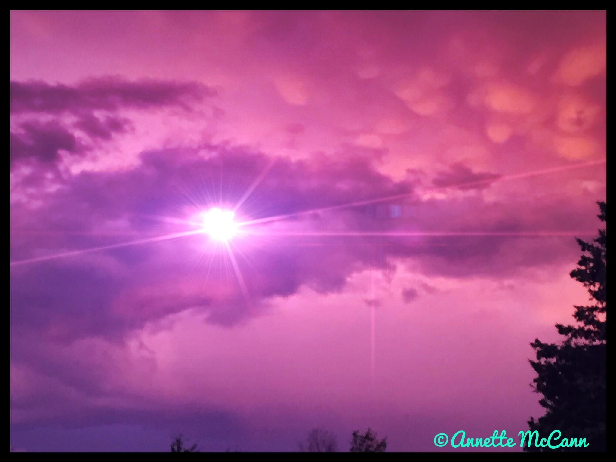 Clouds by Annette McCann