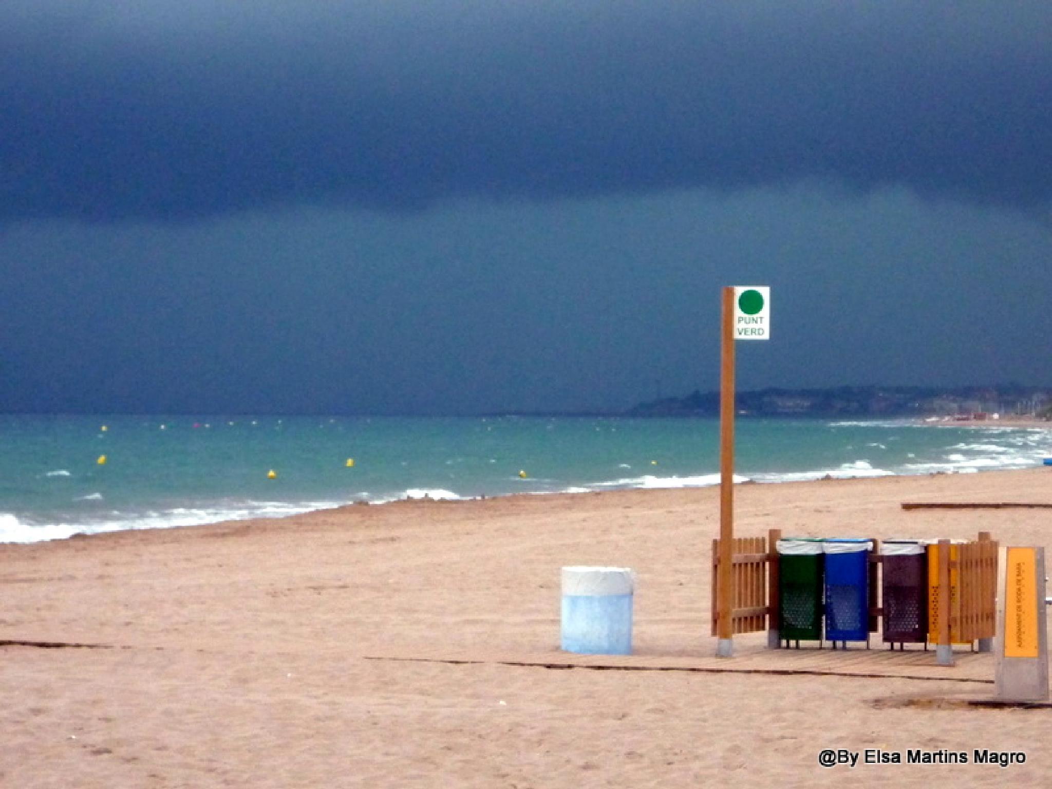 Storm (Barcelona)  by Elsa M