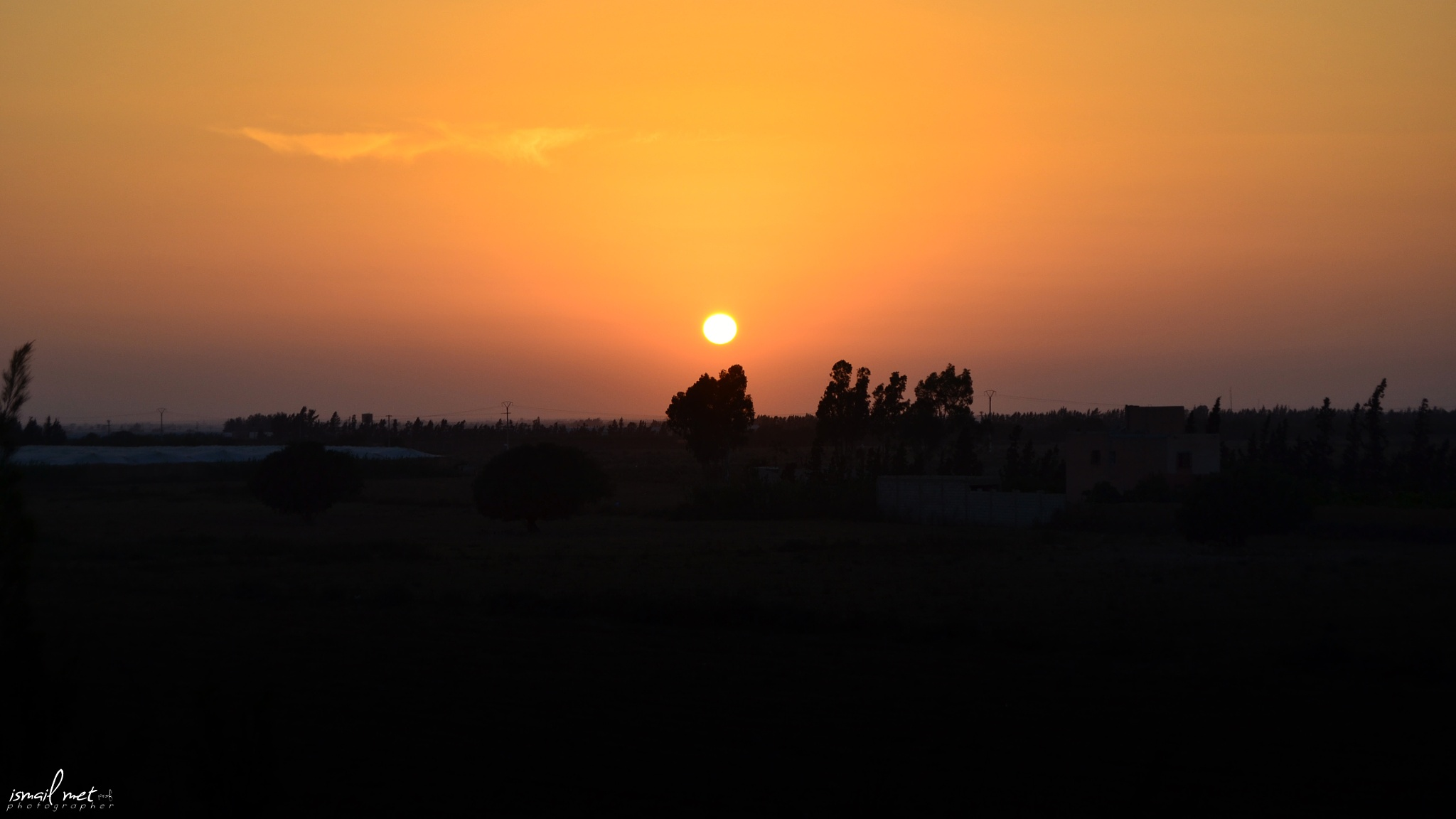 sunset by ismail.met.photography