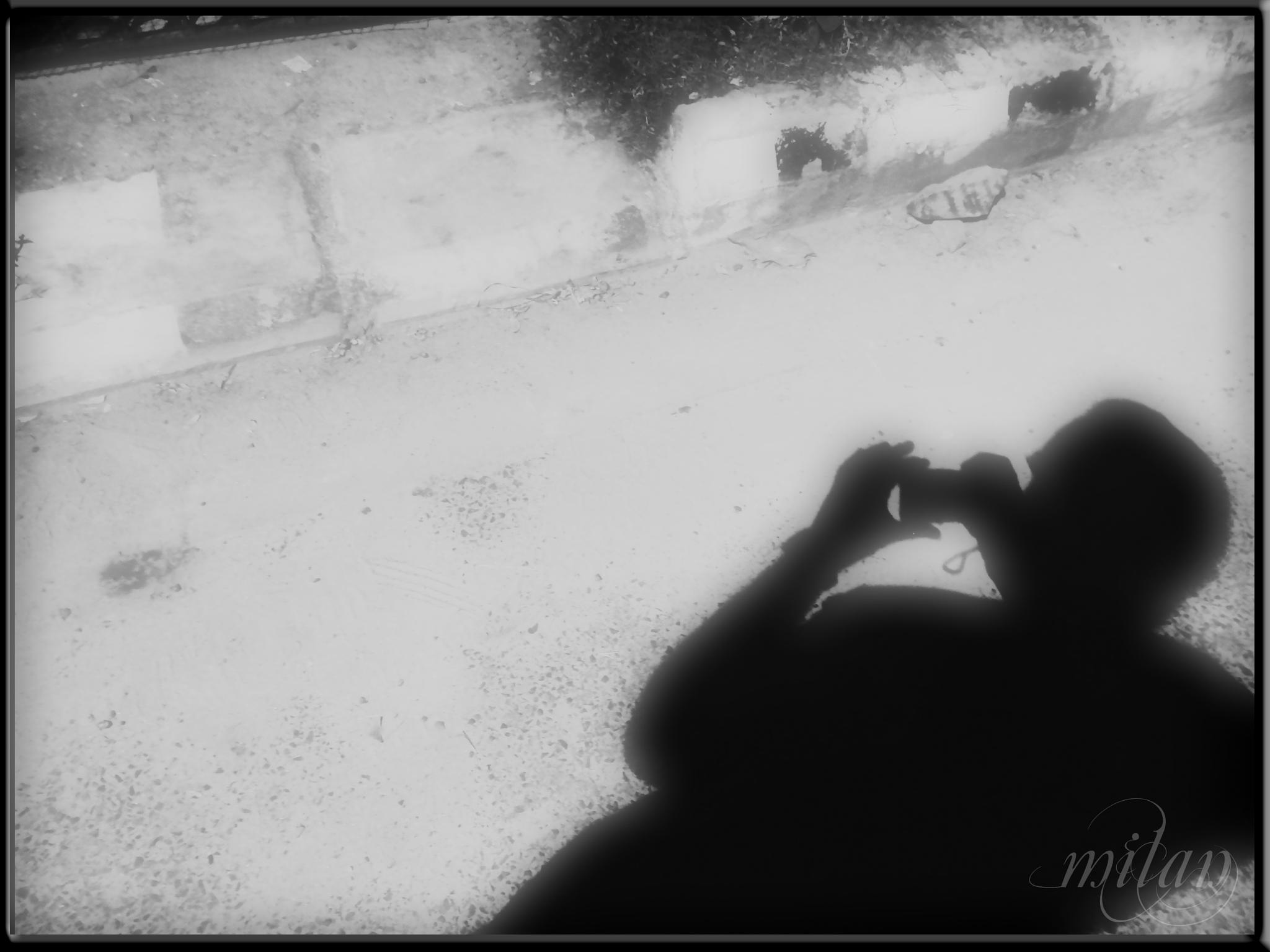 My shadow by milan kr das