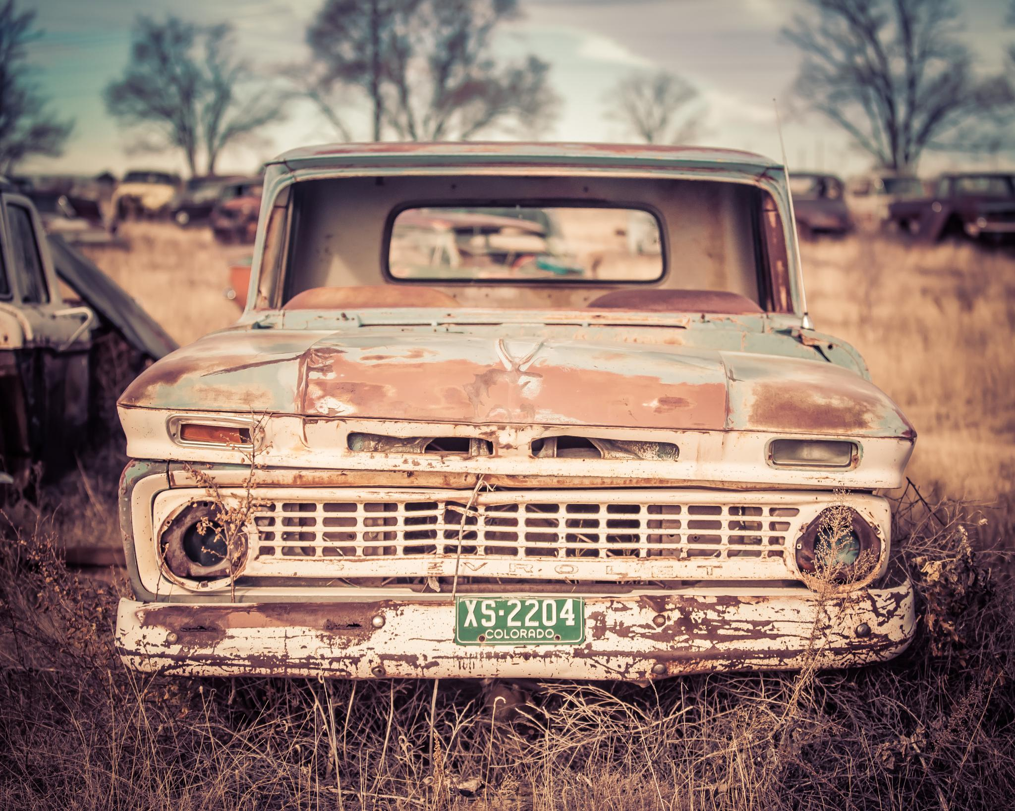 Old Car by FattirePhotography