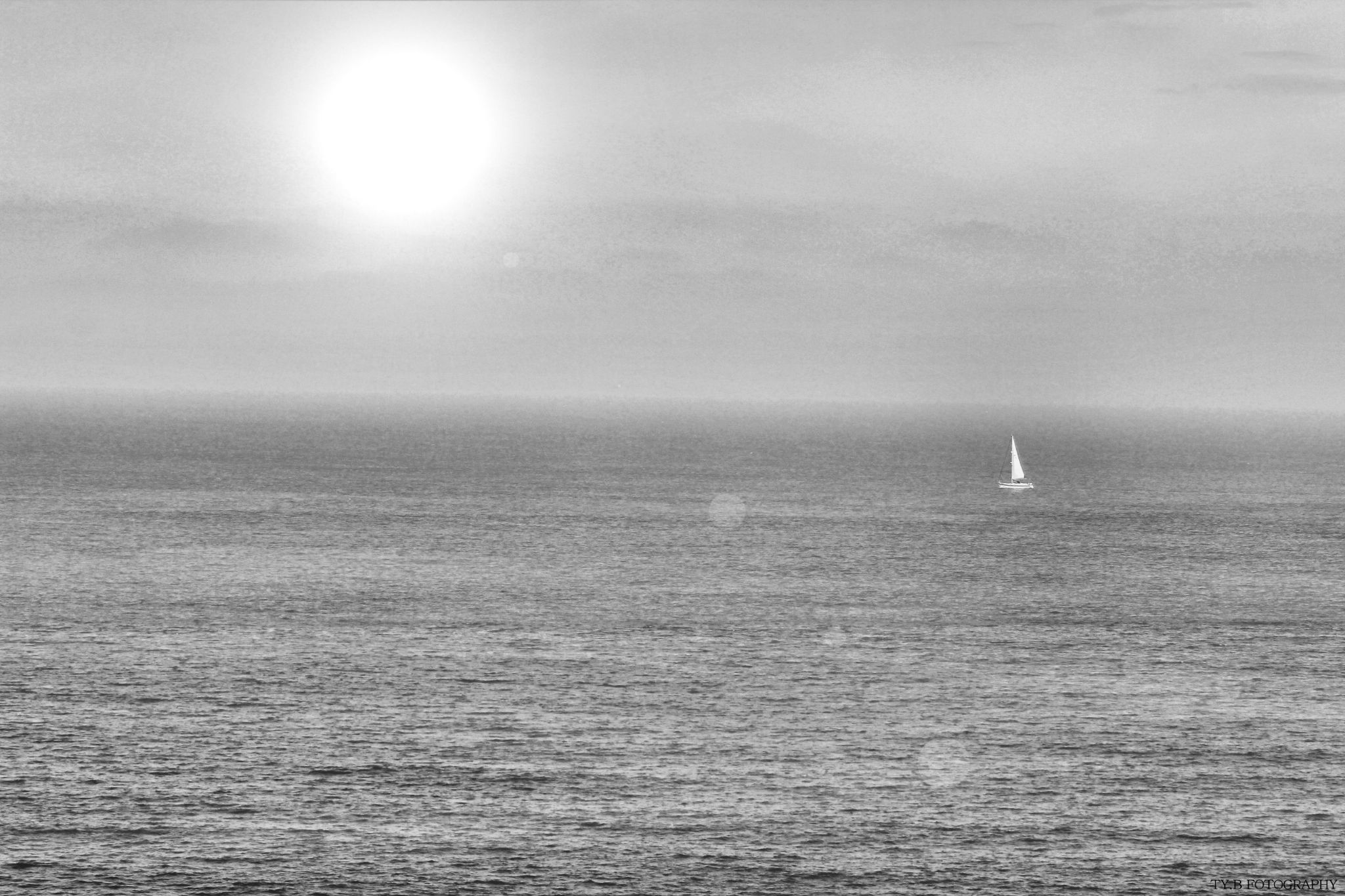 Lonely Boat by TyBellosFotography