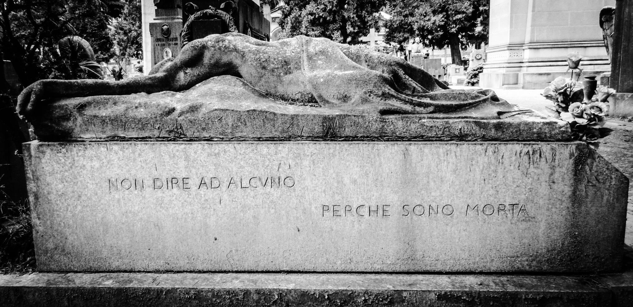 Monumental cemetery Milano by lizzia.mela